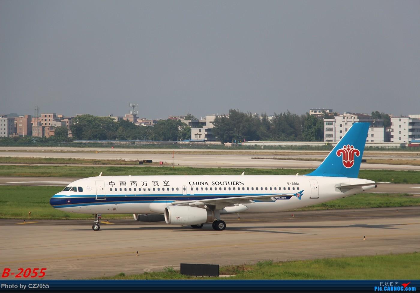 [原创]Re:[原创]【广东青少年拍机小队】【C-Z-2055】发完737和宽体就升级320,那就再发一组320系列。 AIRBUS A320-200 B-9951 中国广州白云国际机场