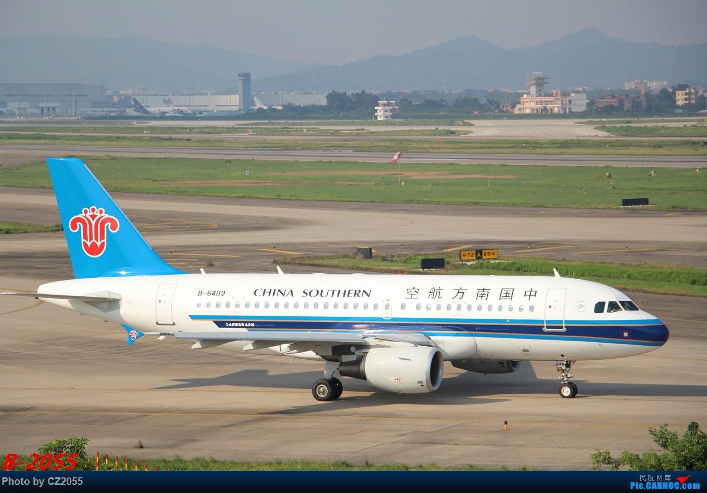 Re:[原创]Re:[原创]【广东青少年拍机小队】【C-Z-2055】发完737和宽体就升级320,那就再发一组320系列。 AIRBUS A319-100 B-6409 中国广州白云国际机场