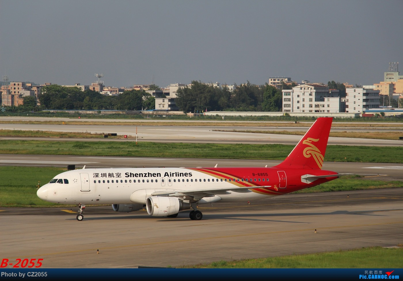 Re:Re:[原创]【广东青少年拍机小队】【C-Z-2055】发完737和宽体就升级320,那就再发一组320系列。 AIRBUS A320-200 B-6855 中国广州白云国际机场