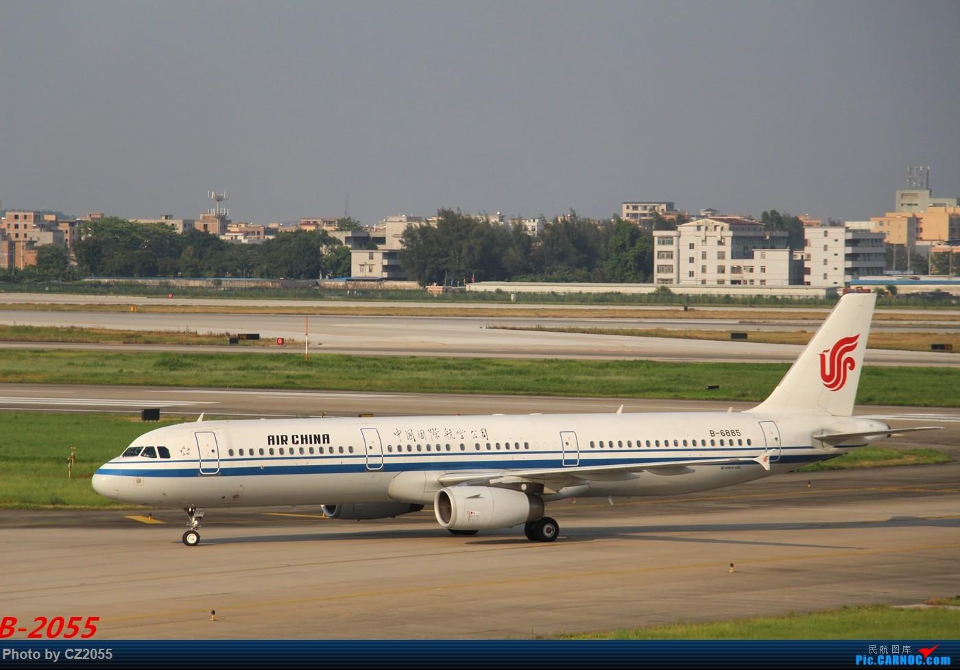 Re:[原创]Re:[原创]【广东青少年拍机小队】【C-Z-2055】发完737和宽体就升级320,那就再发一组320系列。 AIRBUS A321-200 B-6885 中国广州白云国际机场