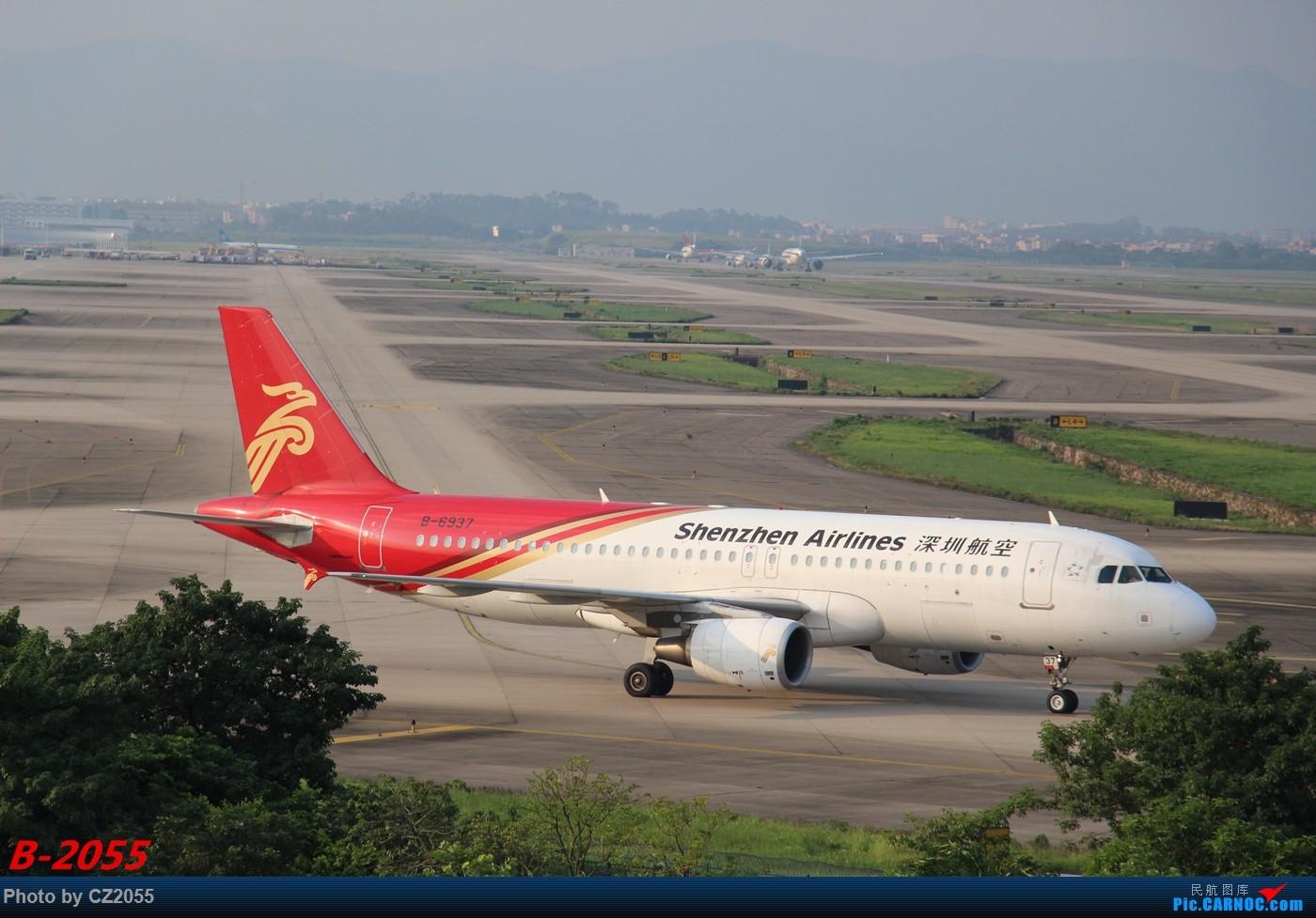 Re:[原创]Re:[原创]【广东青少年拍机小队】【C-Z-2055】发完737和宽体就升级320,那就再发一组320系列。 AIRBUS A320-200 B-6937 中国广州白云国际机场