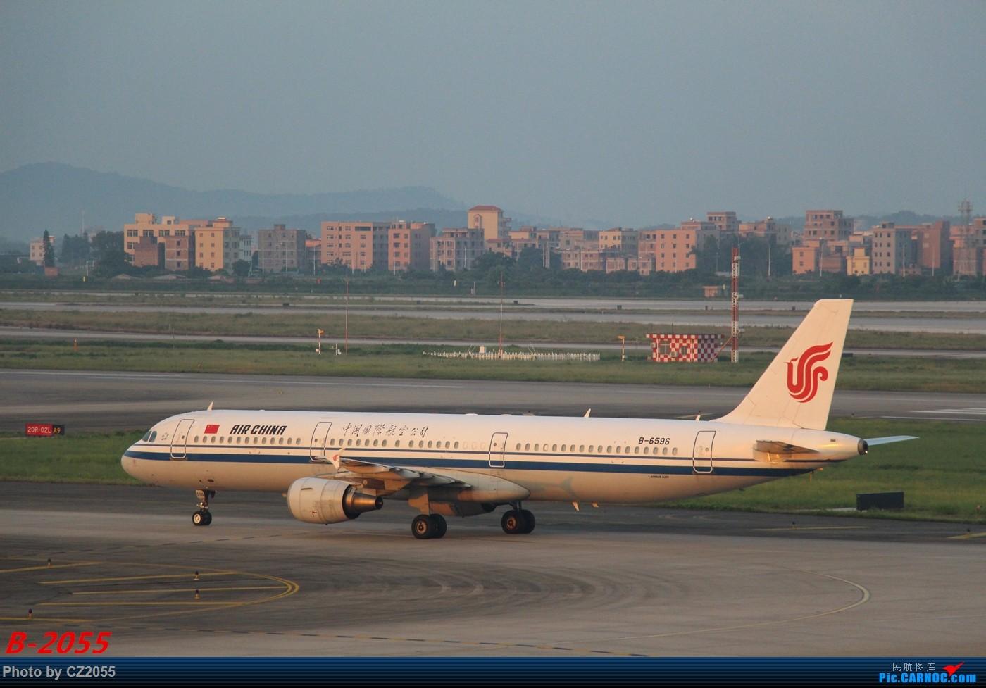 Re:[原创]Re:[原创]【广东青少年拍机小队】【C-Z-2055】发完737和宽体就升级320,那就再发一组320系列。 AIRBUS A321-200 B-6596 中国广州白云国际机场