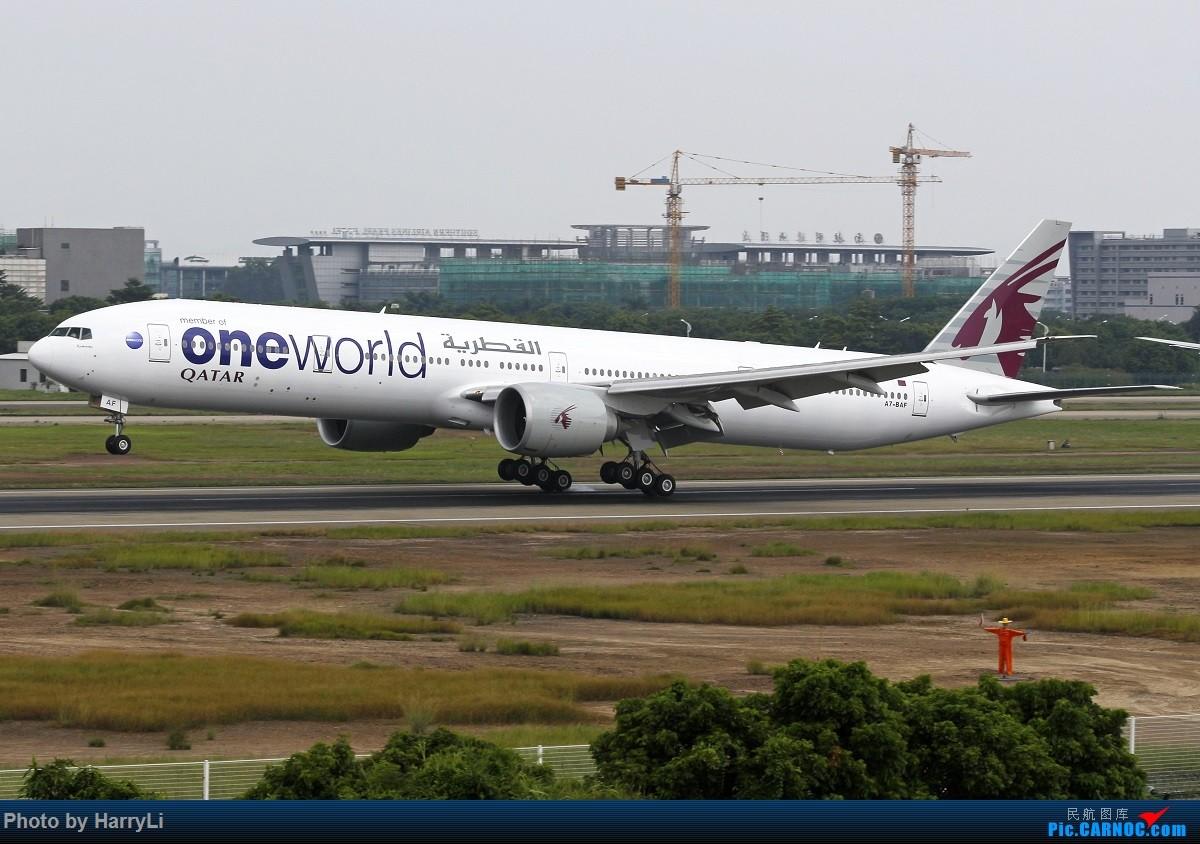 Re:[原创]CAN 国际+国内杂篇 BOEING 777-300ER A7-BAE 中国广州白云国际机场