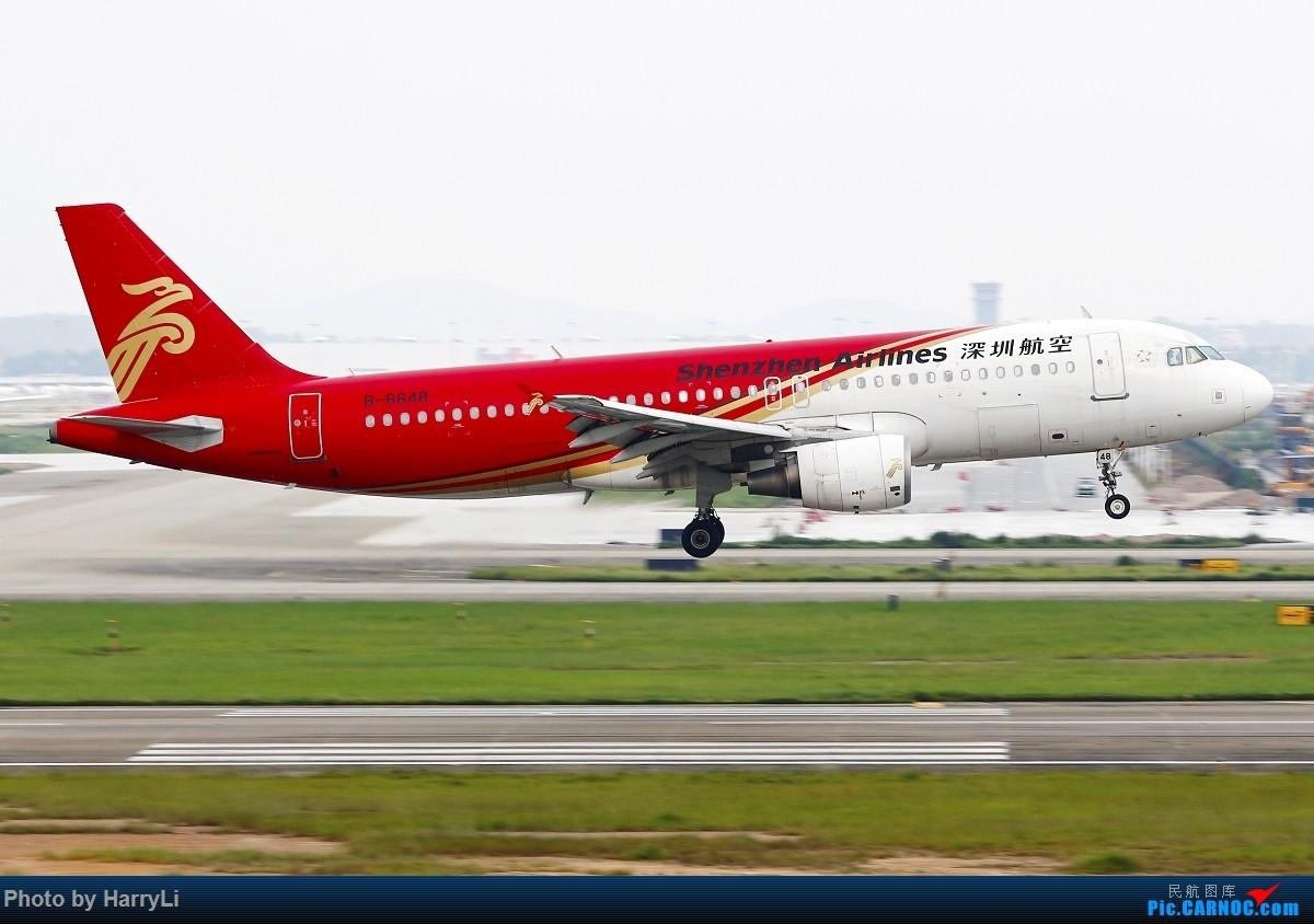 Re:[原创]CAN 国际+国内杂篇 AIRBUS A320-200 B-6648 中国广州白云国际机场
