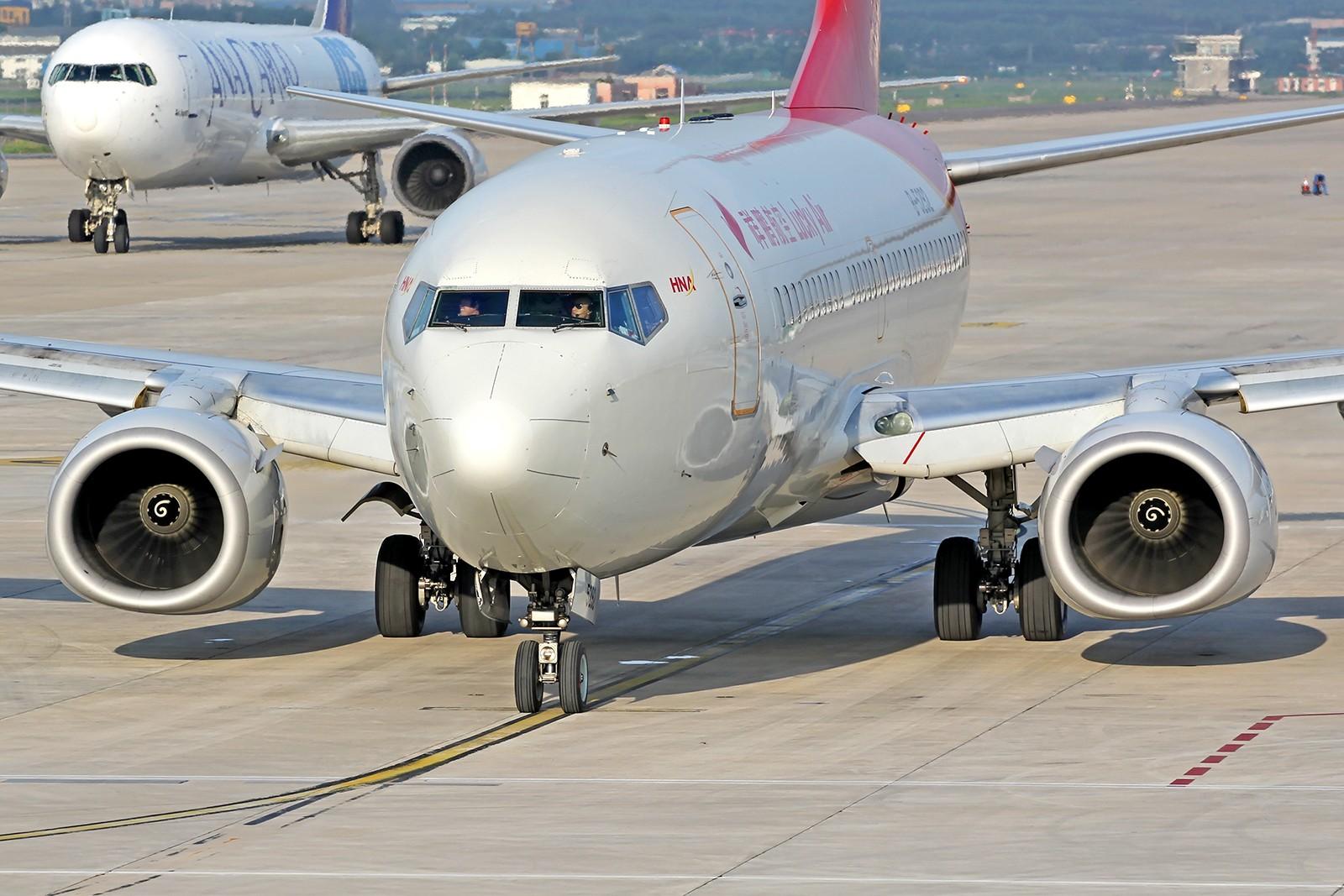 [原创][DLC]。。。夕阳西下。。。 BOEING 737-700 B-5292 中国大连周水子国际机场