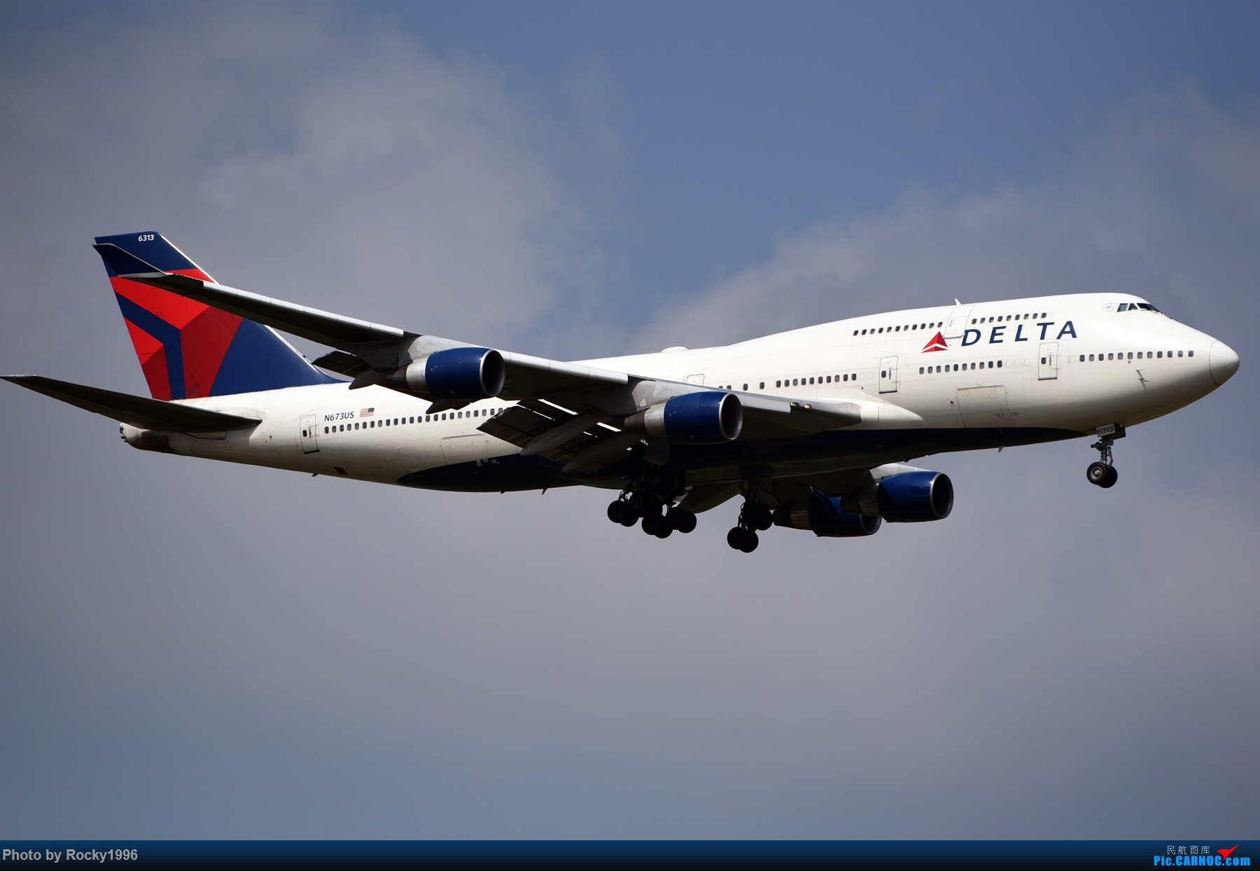 Re:[原创]浦东好天,就要胖子棍子一把抓!! BOEING 747-400 N673US 中国上海浦东国际机场