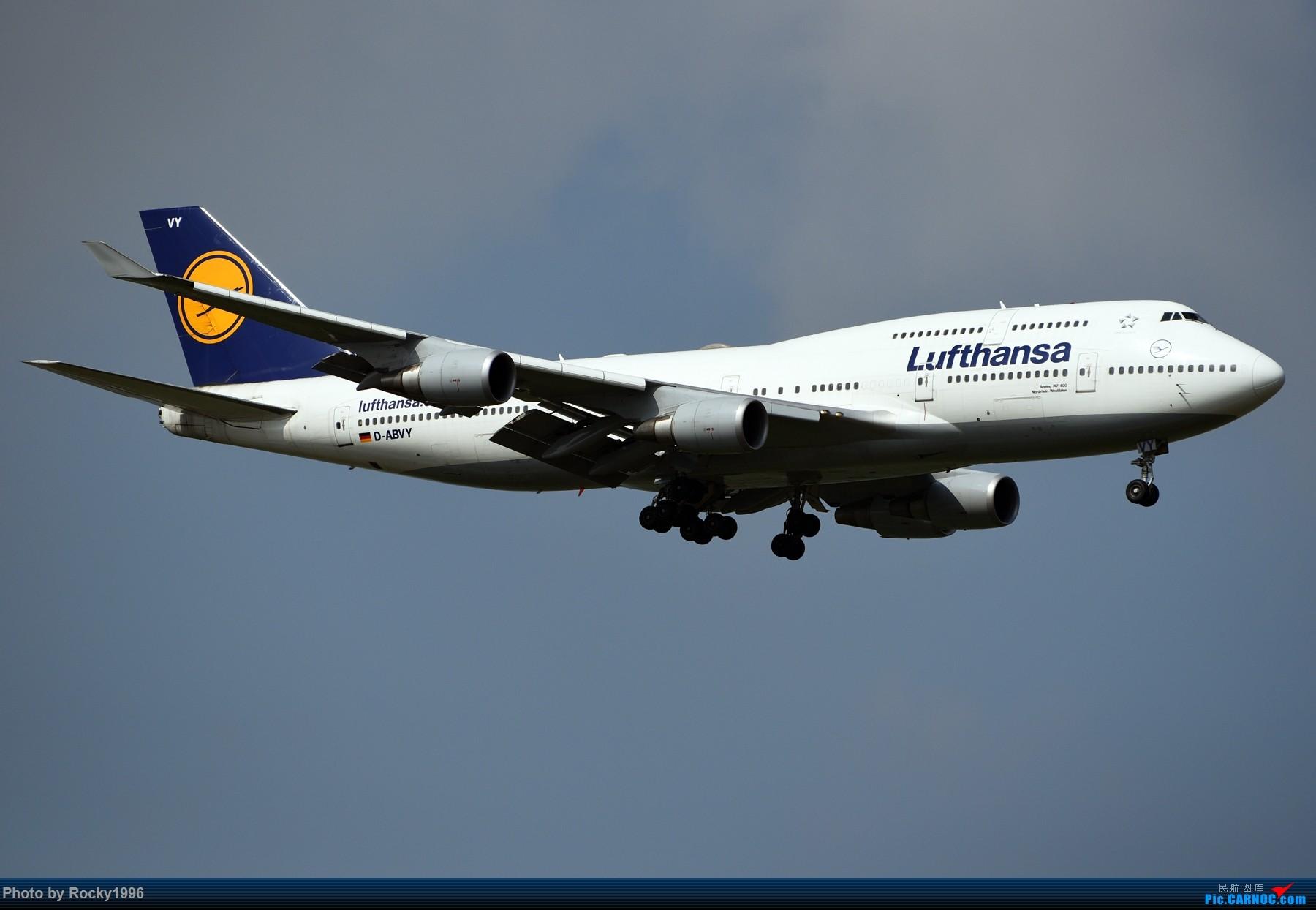 Re:[原创]浦东好天,就要胖子棍子一把抓!! BOEING 747-400 D-ABVY 中国上海浦东国际机场