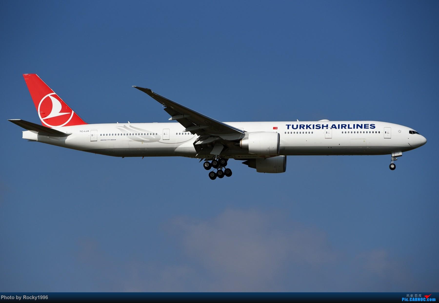 Re:[原创]浦东好天,就要胖子棍子一把抓!! BOEING 777-300ER TC-LJA 中国上海浦东国际机场