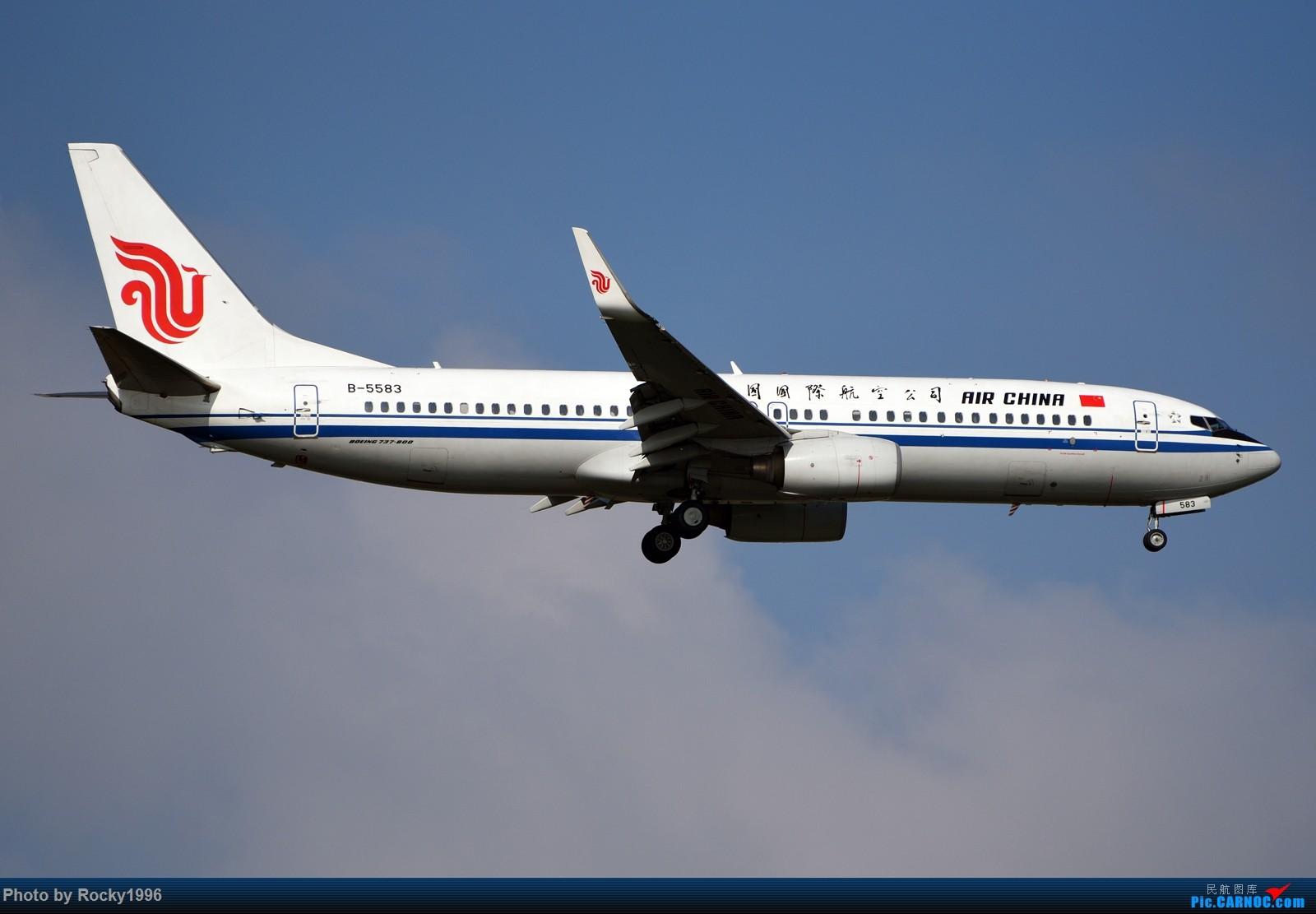 Re:[原创]浦东好天,就要胖子棍子一把抓!! BOEING 737-800 B-5583 中国上海浦东国际机场