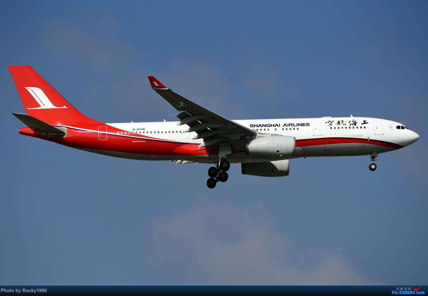 Re:[原创]浦东好天,就要胖子棍子一把抓!! AIRBUS A330-200 B-6546 中国上海浦东国际机场