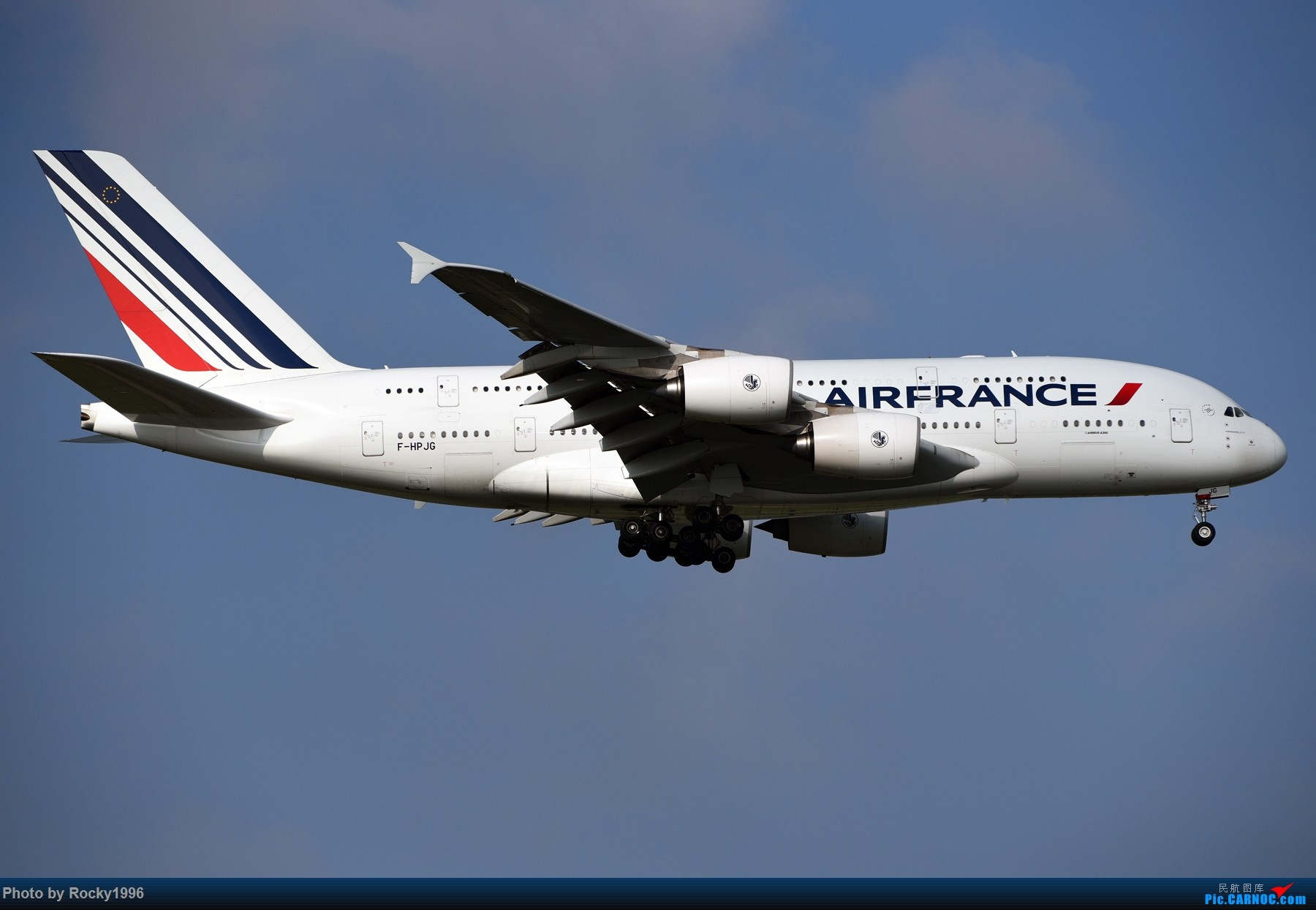 Re:[原创]浦东好天,就要胖子棍子一把抓!! AIRBUS A380-800 F-HPJG 中国上海浦东国际机场