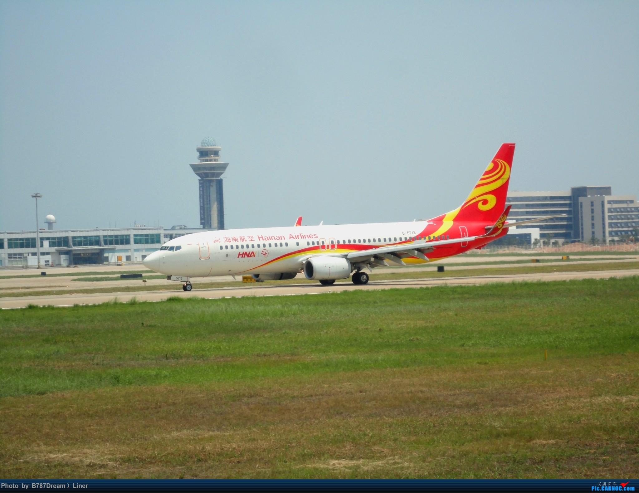 [原创]【福州飞友会】2015.8.2打机 BOEING 737-800 B-5713 中国福州长乐国际机场