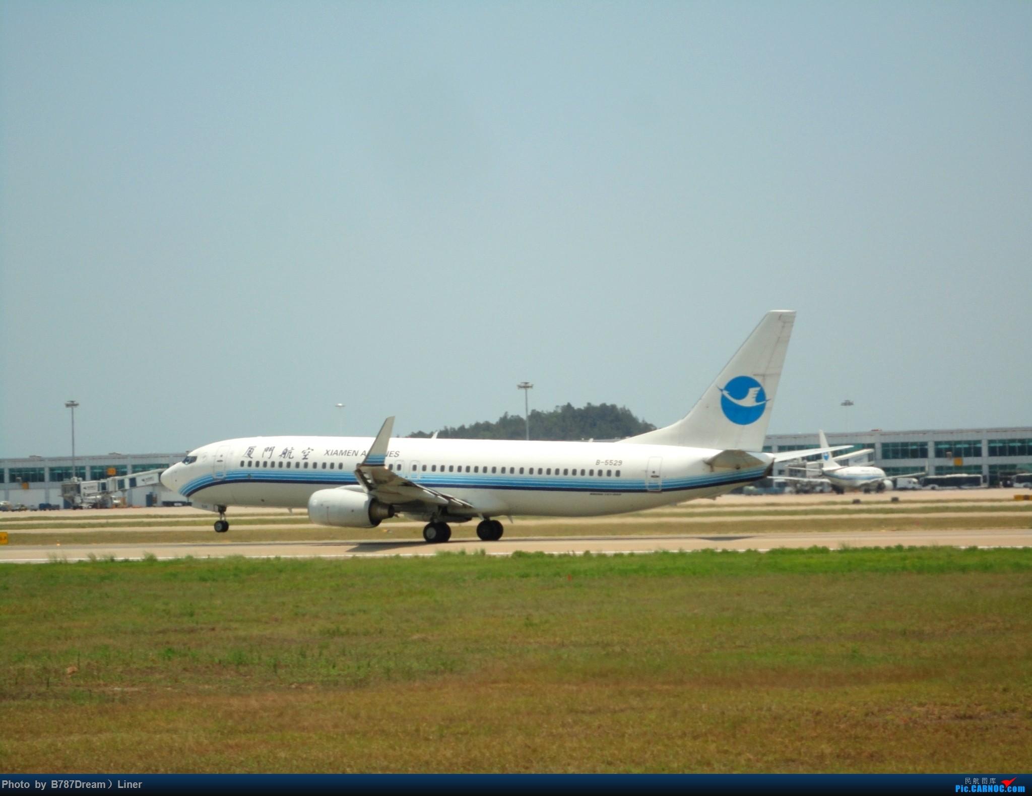 Re:[原创]【福州飞友会】2015.8.2打机 BOEING 737-800 B-5529 中国福州长乐国际机场