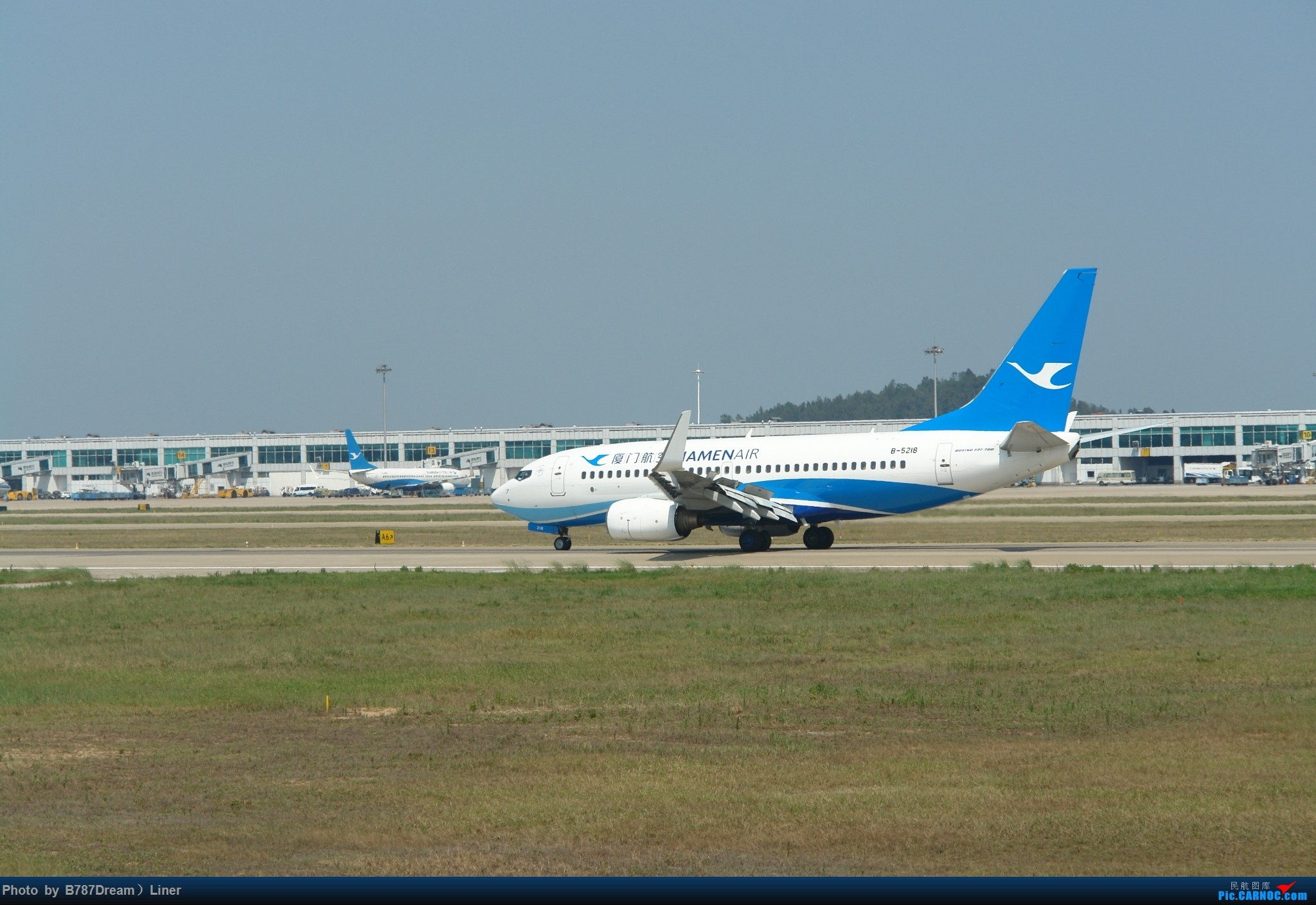 Re:[原创]【福州飞友会】2015.8.2打机 BOEING 737-700 B-5218 中国福州长乐国际机场