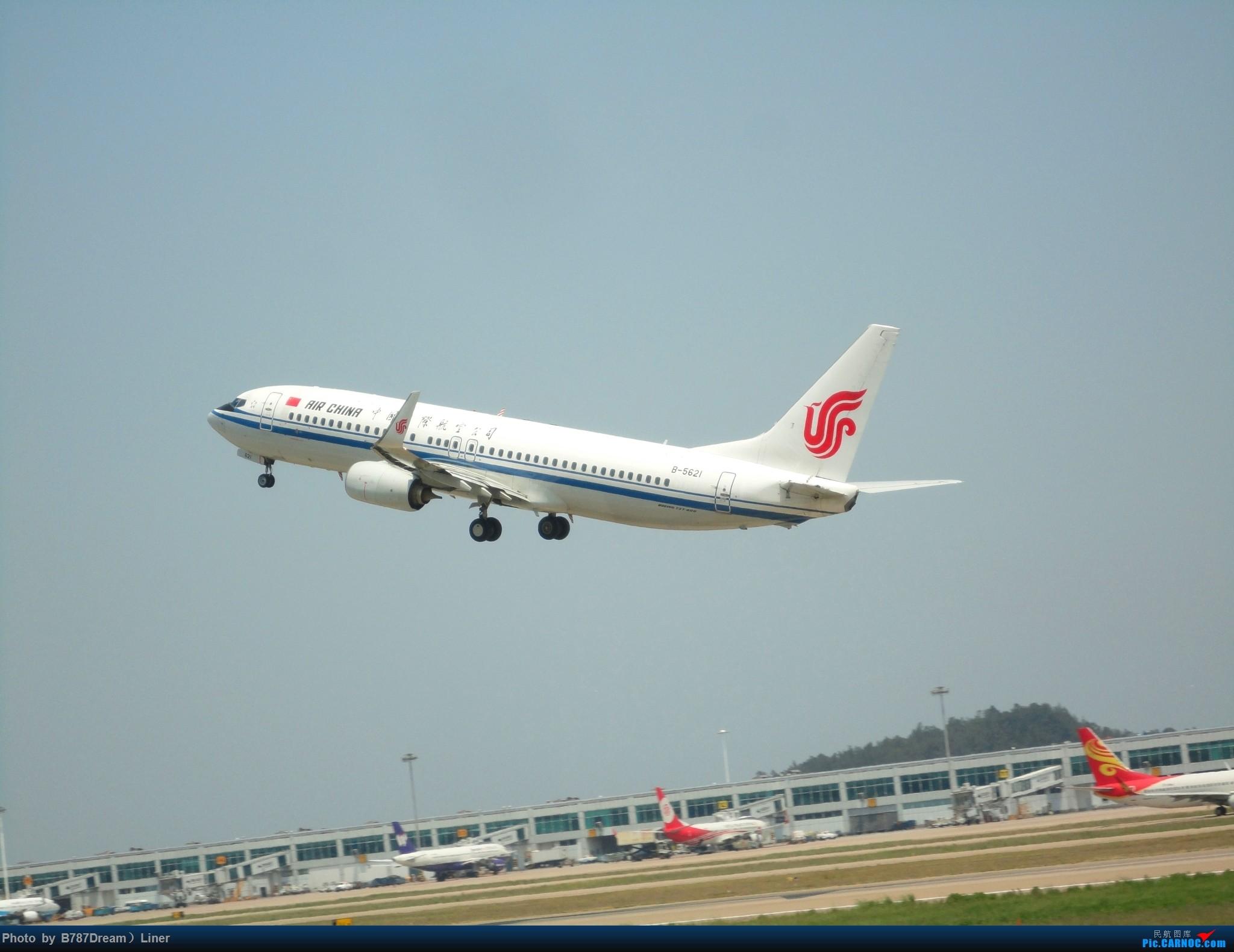 Re:[原创]【福州飞友会】2015.8.2打机 BOEING 737-800 B-5621 中国福州长乐国际机场
