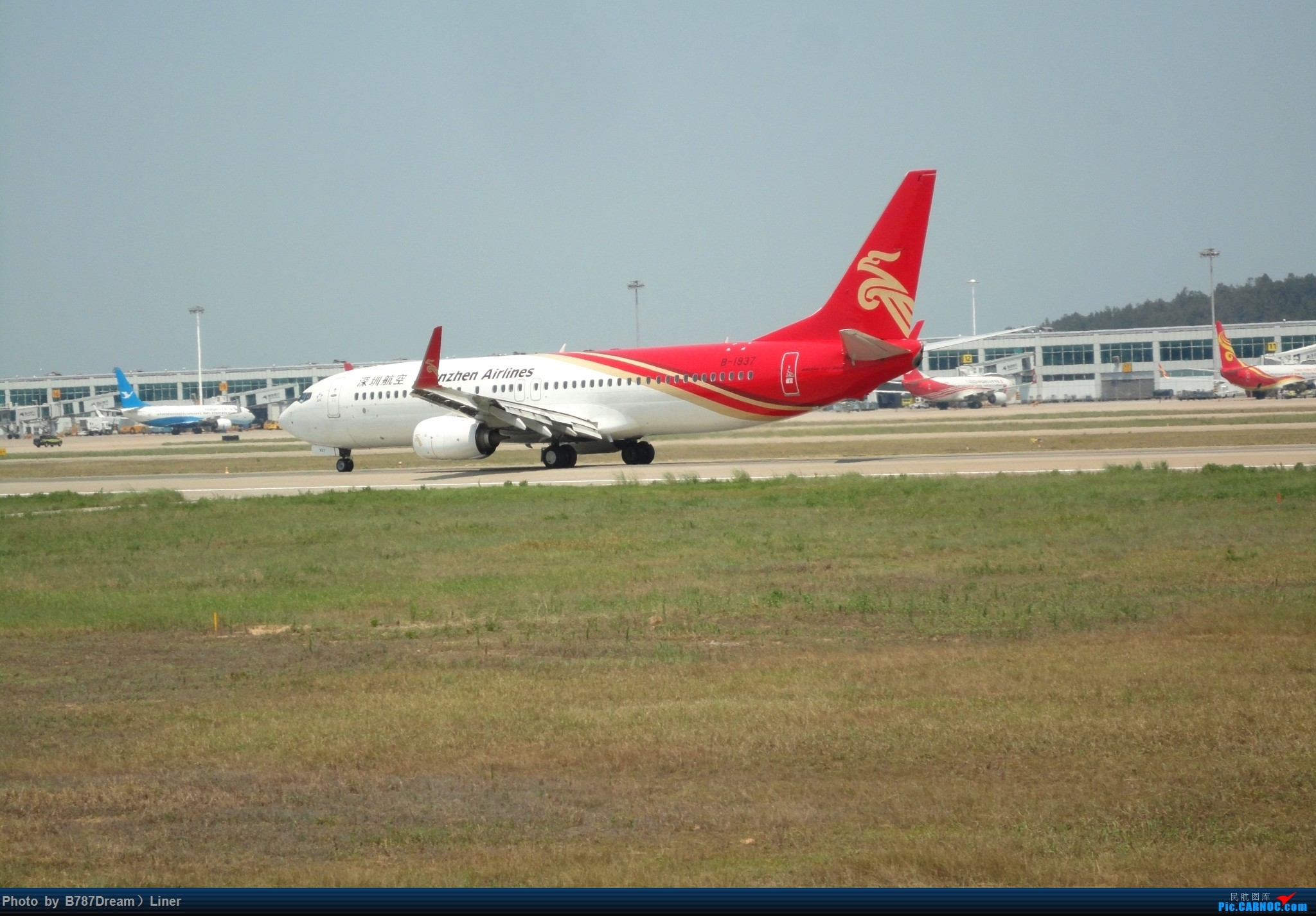 Re:[原创]【福州飞友会】2015.8.2打机 BOEING 737-800 B-1937 中国福州长乐国际机场