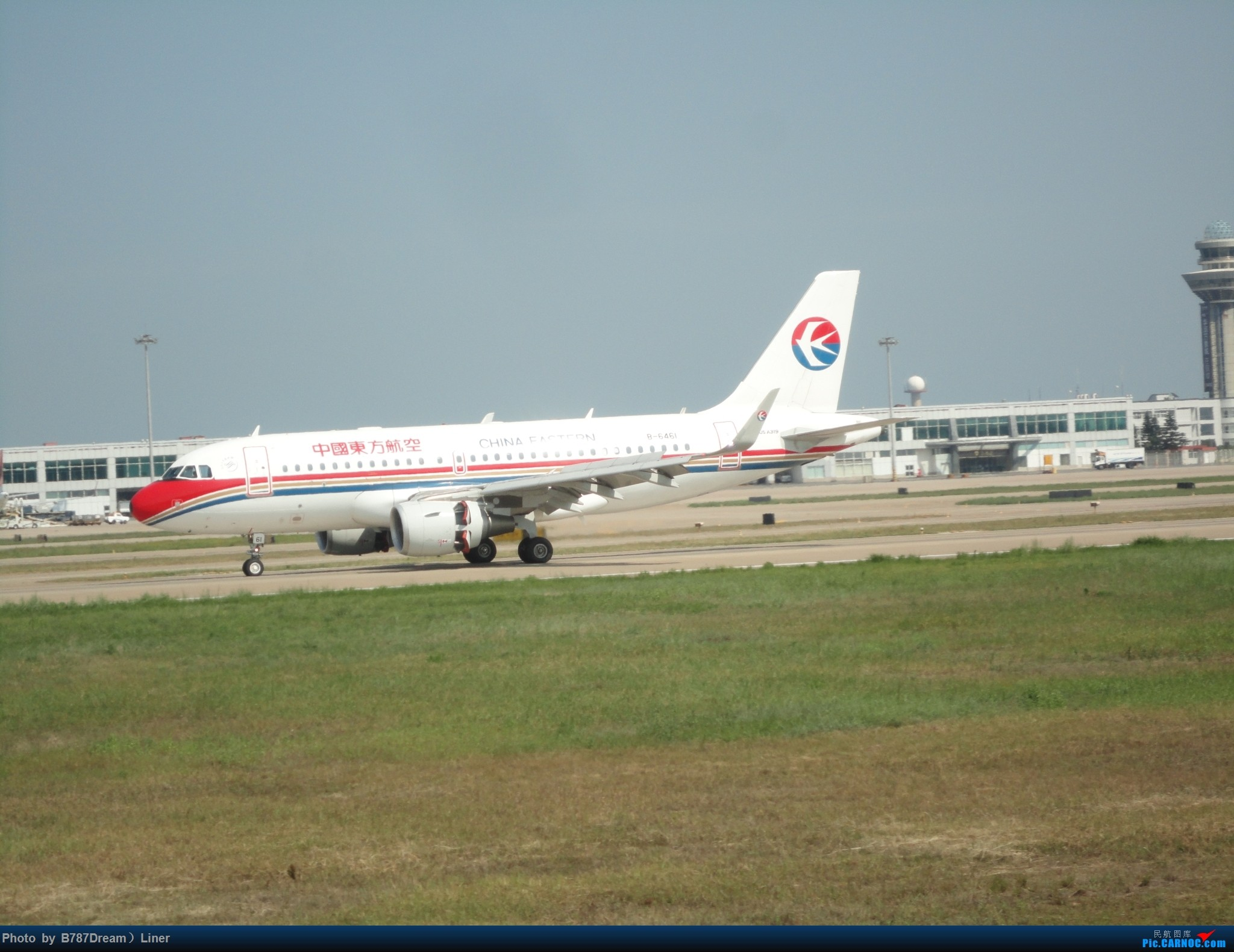 Re:[原创]【福州飞友会】2015.8.2打机 AIRBUS A319-100 B-6461 中国福州长乐国际机场
