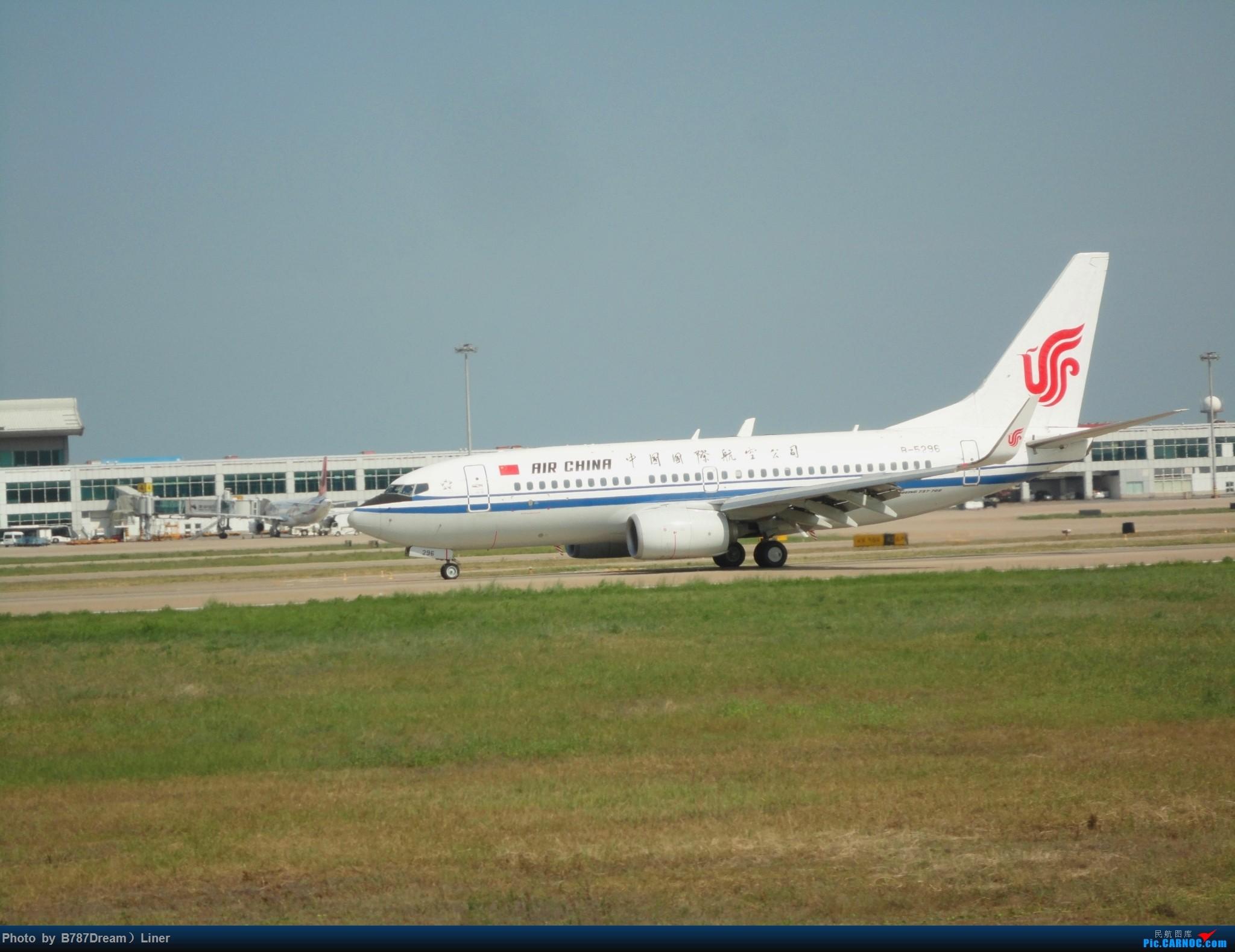 Re:[原创]【福州飞友会】2015.8.2打机 BOEING 737-700 B-5296 中国福州长乐国际机场