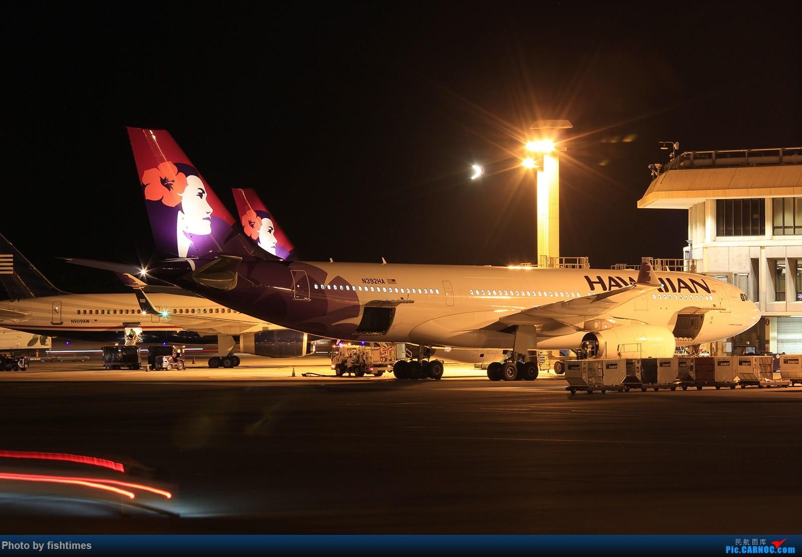 Re:[原创]【HNL】夏威夷机场图两张_20150713 AIRBUS A330-200 N392HA 美国檀香山机场