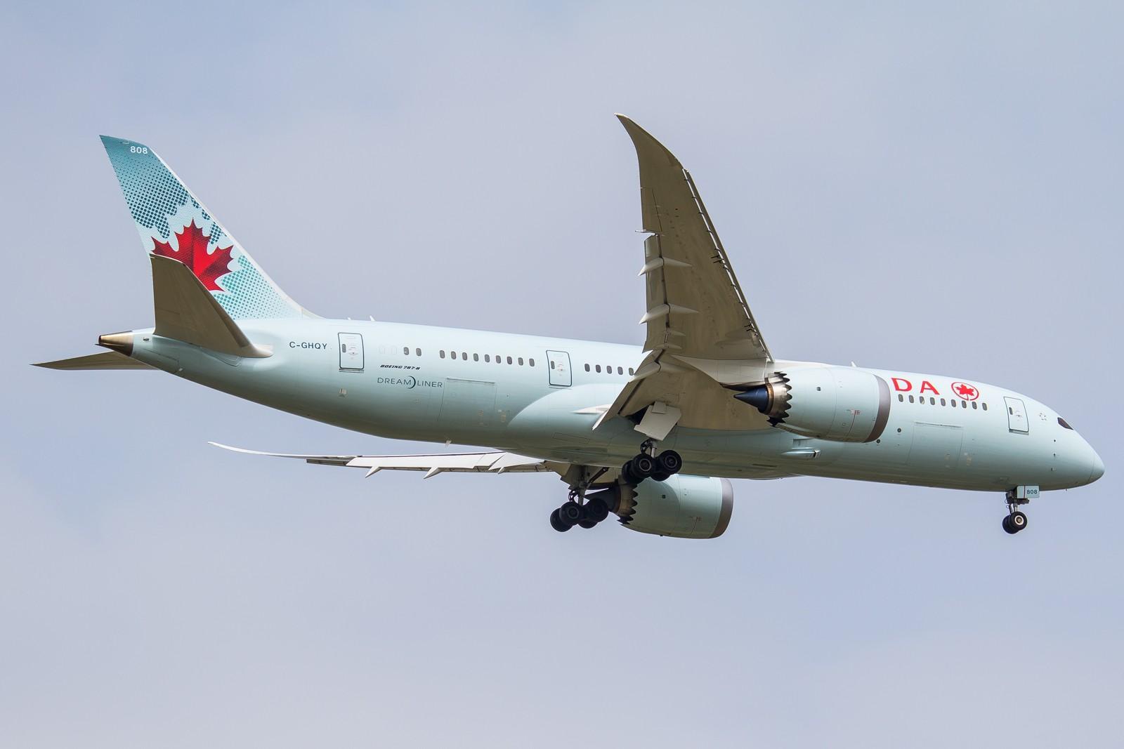 Re:[原创]【GA】【PVG】全  是  宽  体 BOEING 787-8 C-GHQY 中国上海浦东国际机场