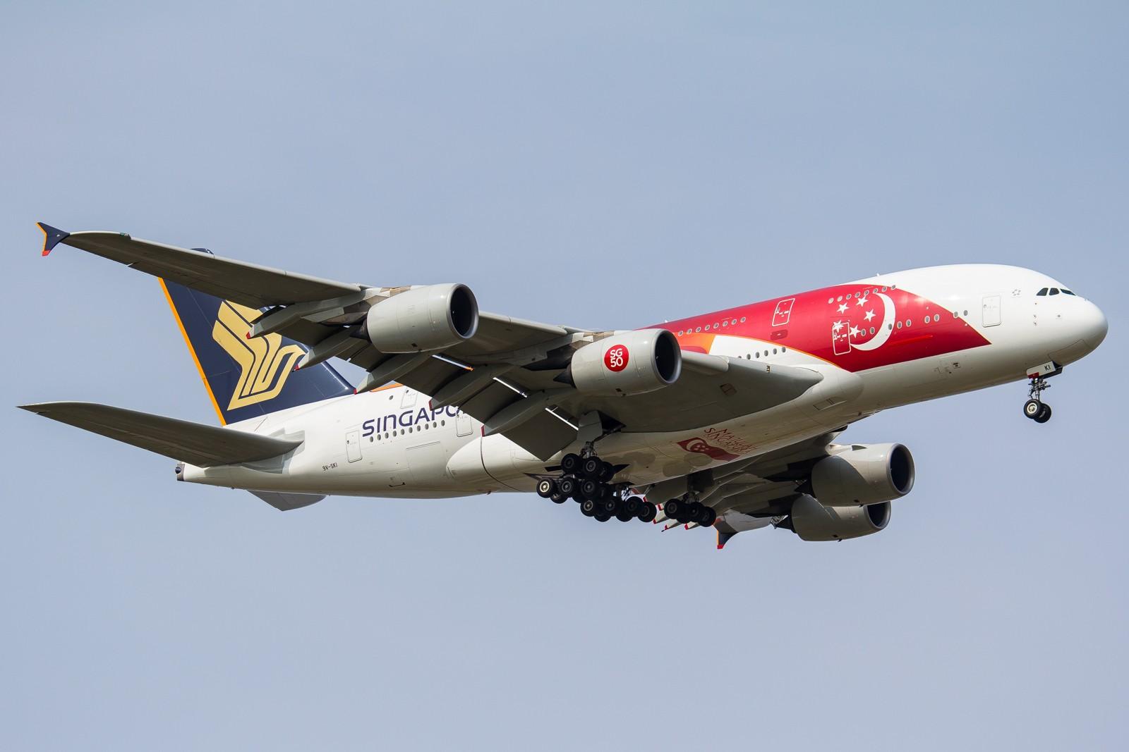 Re:[原创]【GA】【PVG】全  是  宽  体 AIRBUS A380 9V-SKI 中国上海浦东国际机场