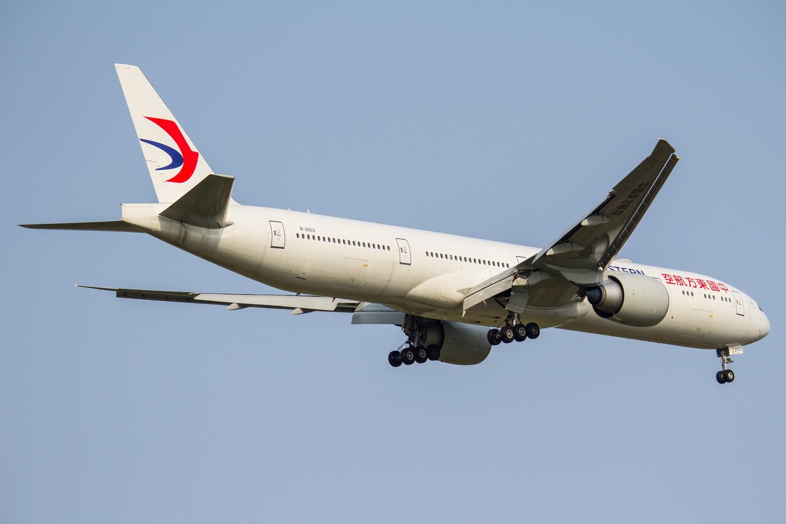 Re:[原创]【GA】【PVG】全  是  宽  体 BOEING 777-300ER B-2003 中国上海浦东国际机场