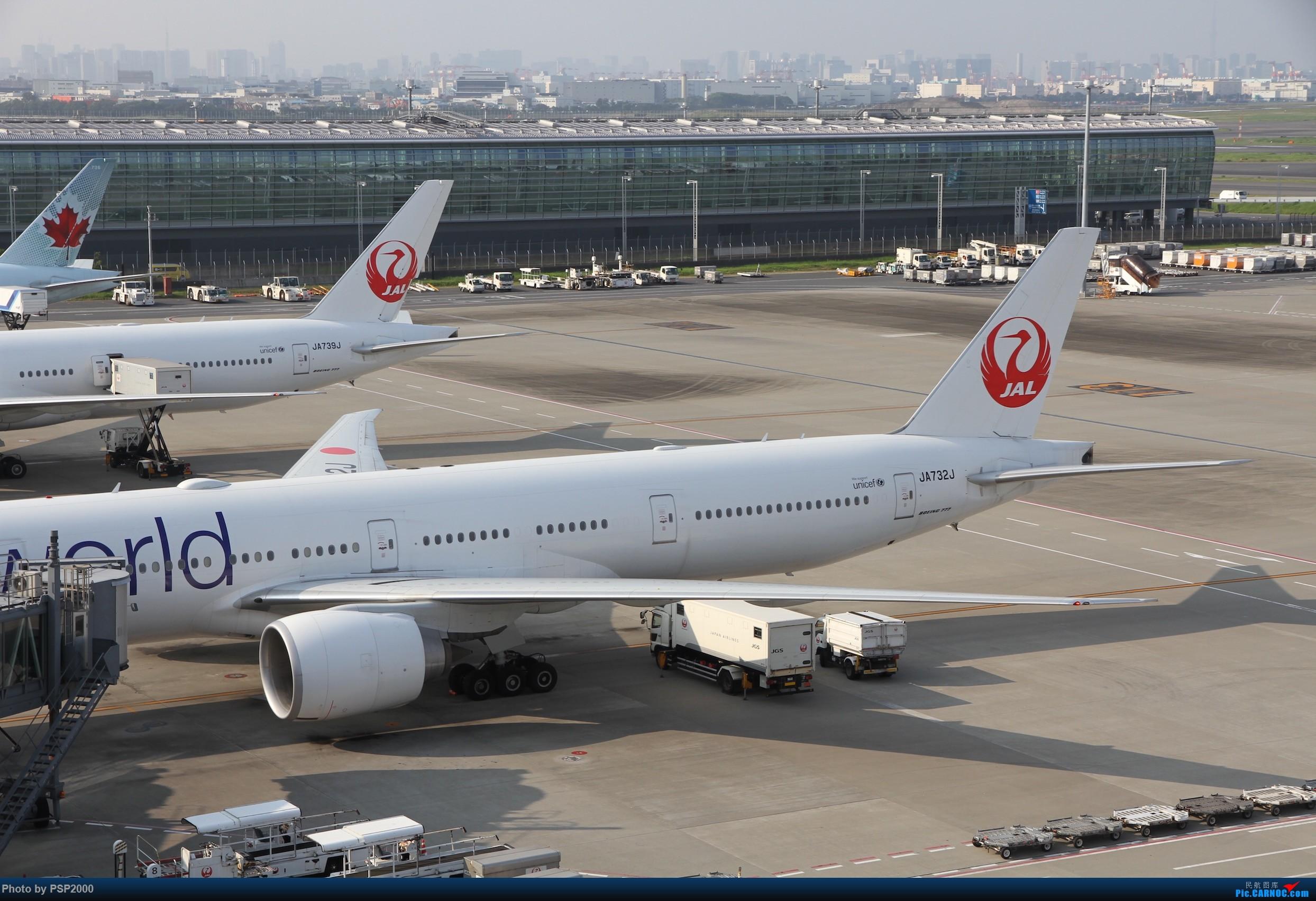 [原创]羽田空港展望 BOEING 777-300ER JA732J