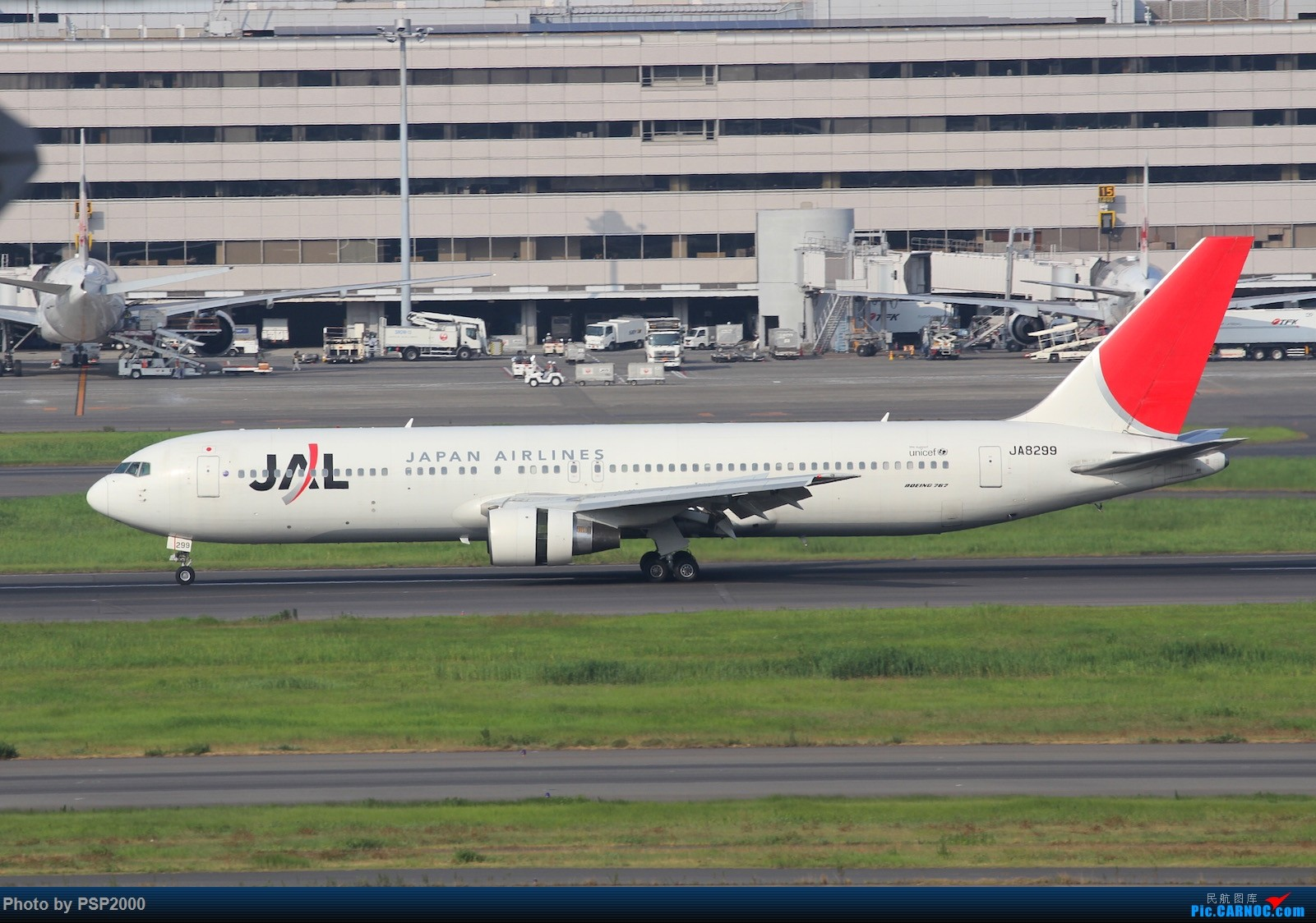 Re:[原创]羽田空港展望 BOEING 767-300 JA8299 HND