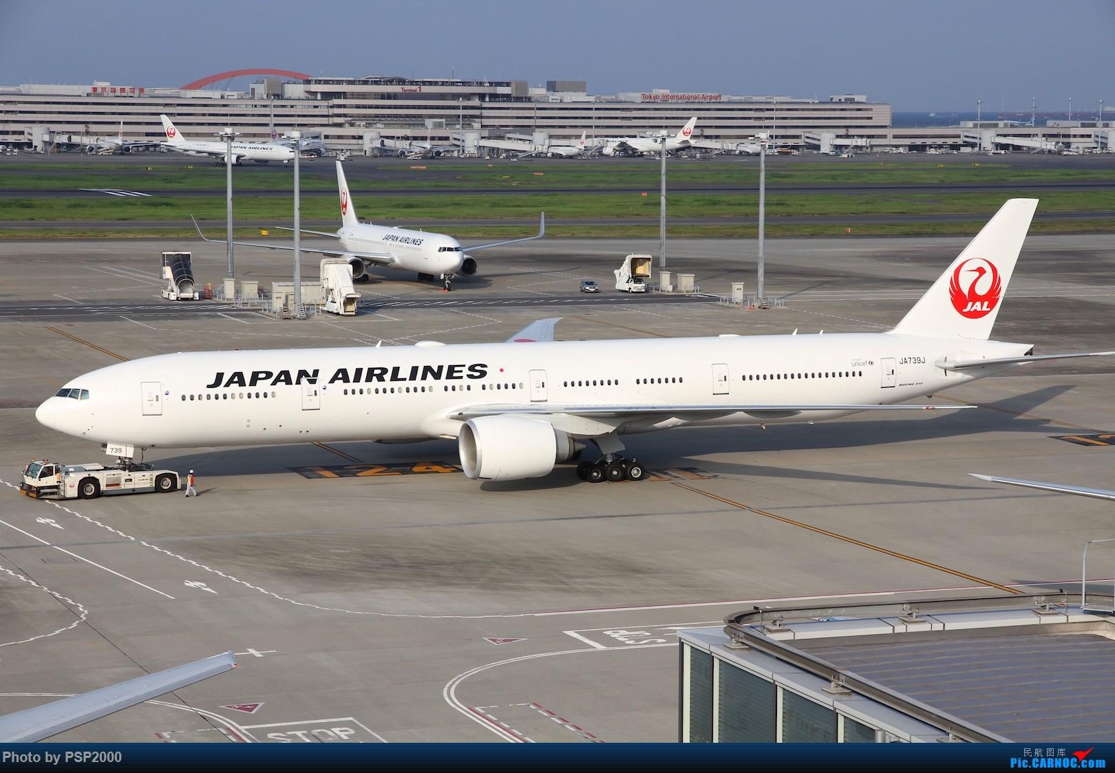 Re:[原创]羽田空港展望 BOEING 777-300ER JA739J HND