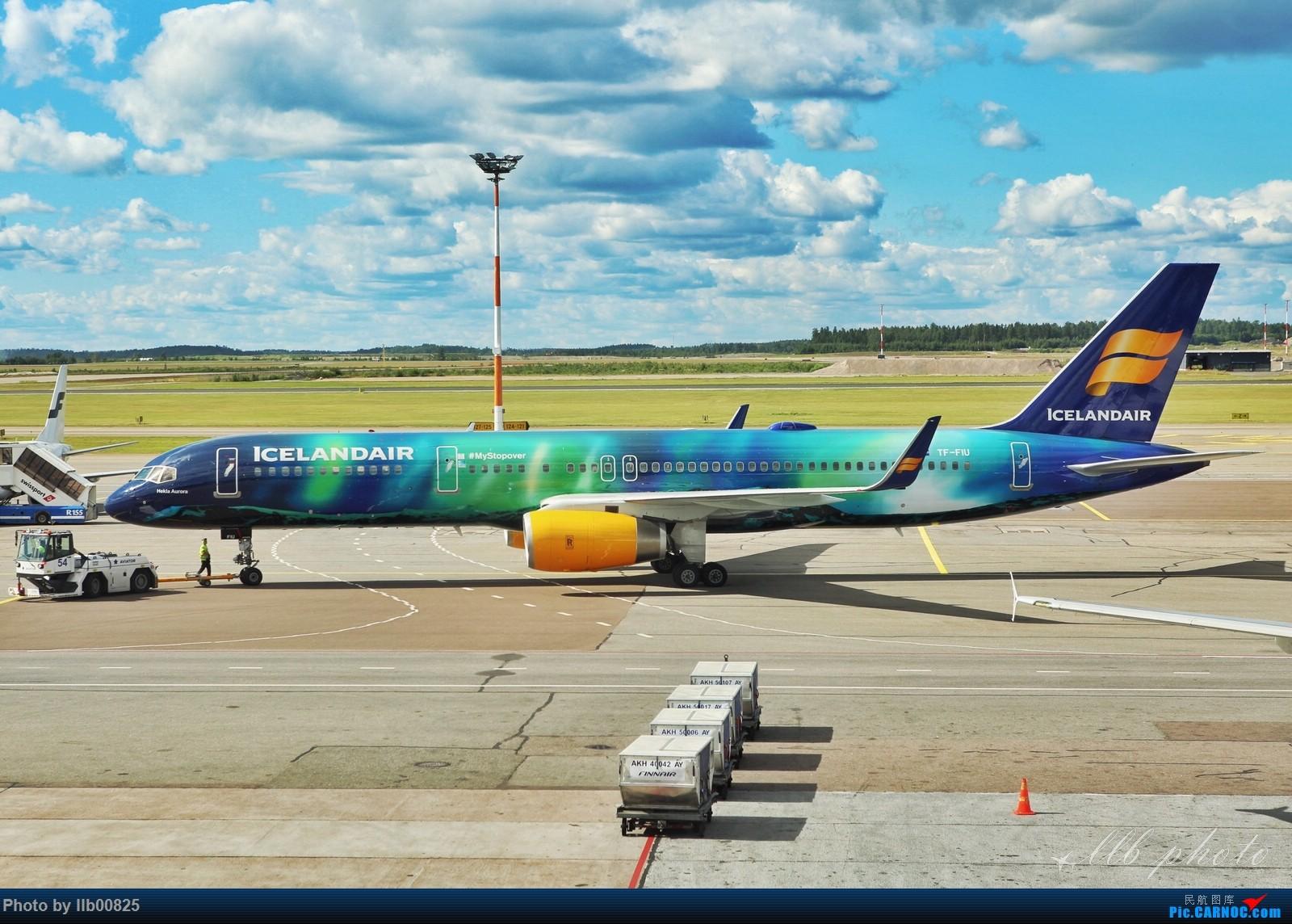 [原创]赫尔辛基随拍——先发两张 BOEING 757-200 TF-FIU 芬兰赫尔辛基机场