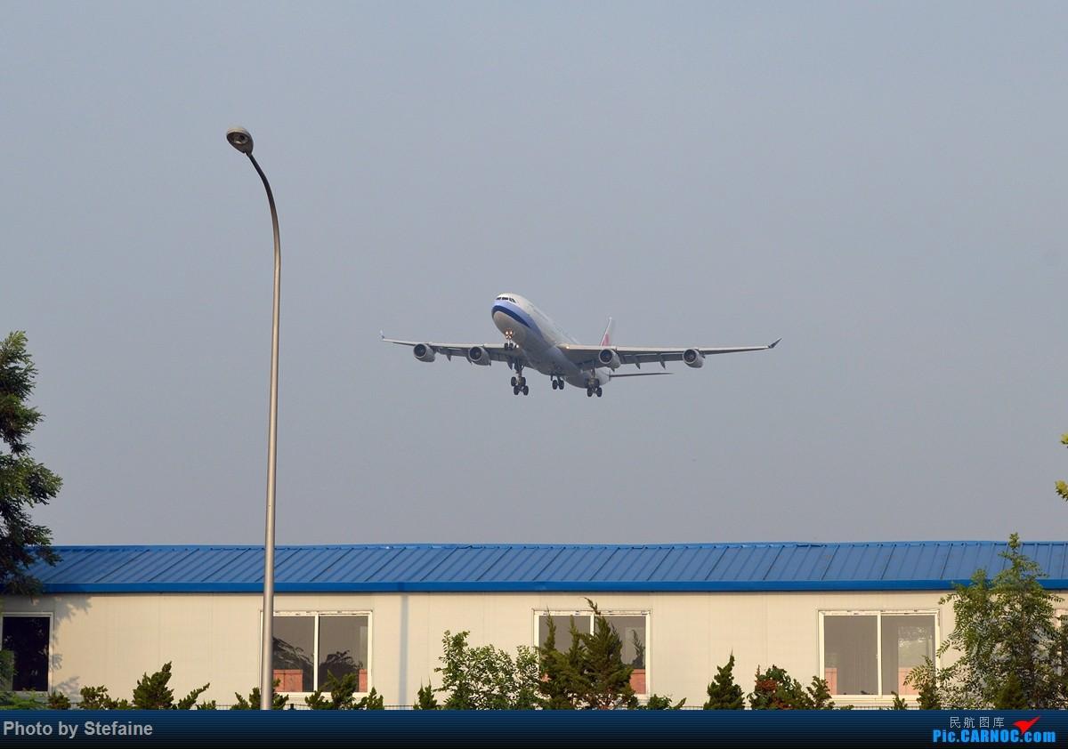 [原创][DLC]中华A343及南航大连最新一架A320 AIRBUS A340-300 B-18807 中国大连周水子国际机场