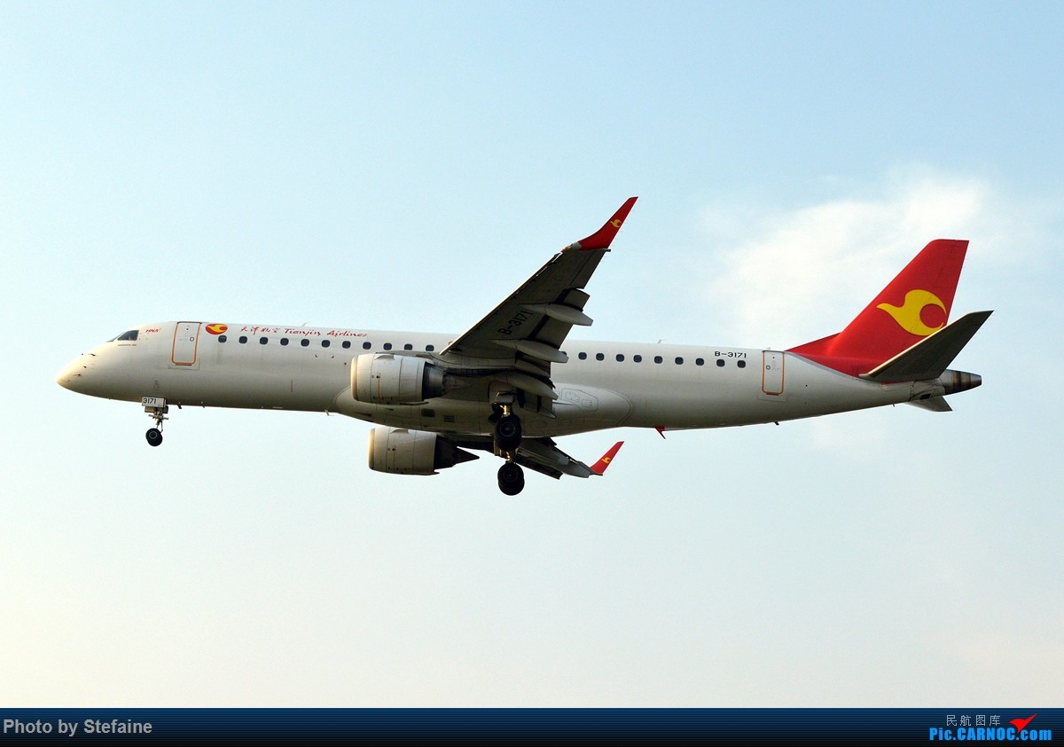 Re:[原创][DLC]中华A343及南航大连最新一架A320 EMBRAER E-190 B-3171 中国大连周水子国际机场