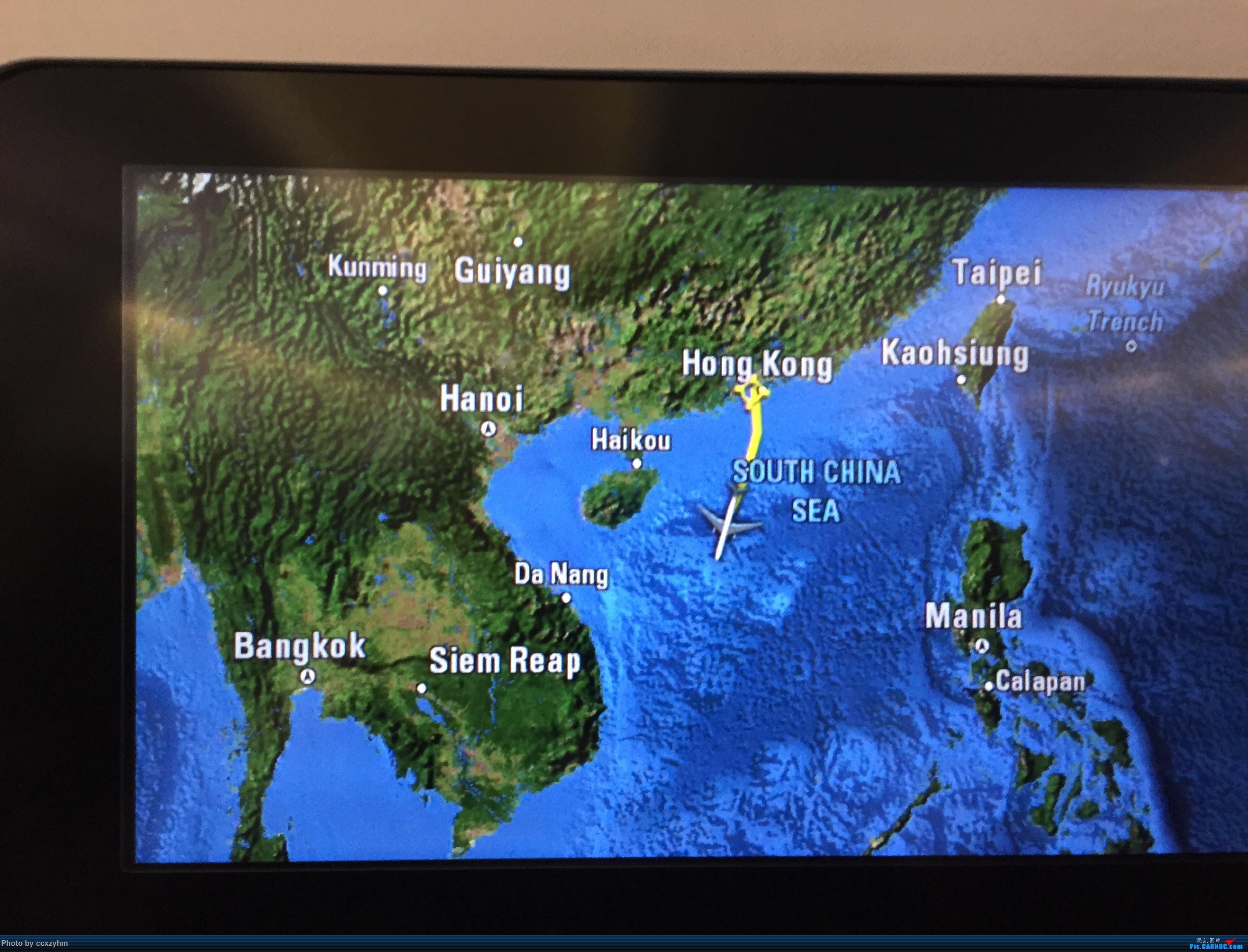 Re:[原创]PEK-HKG-SIN 港龙+国泰 KA+CX 暑假游坡县 333  空中