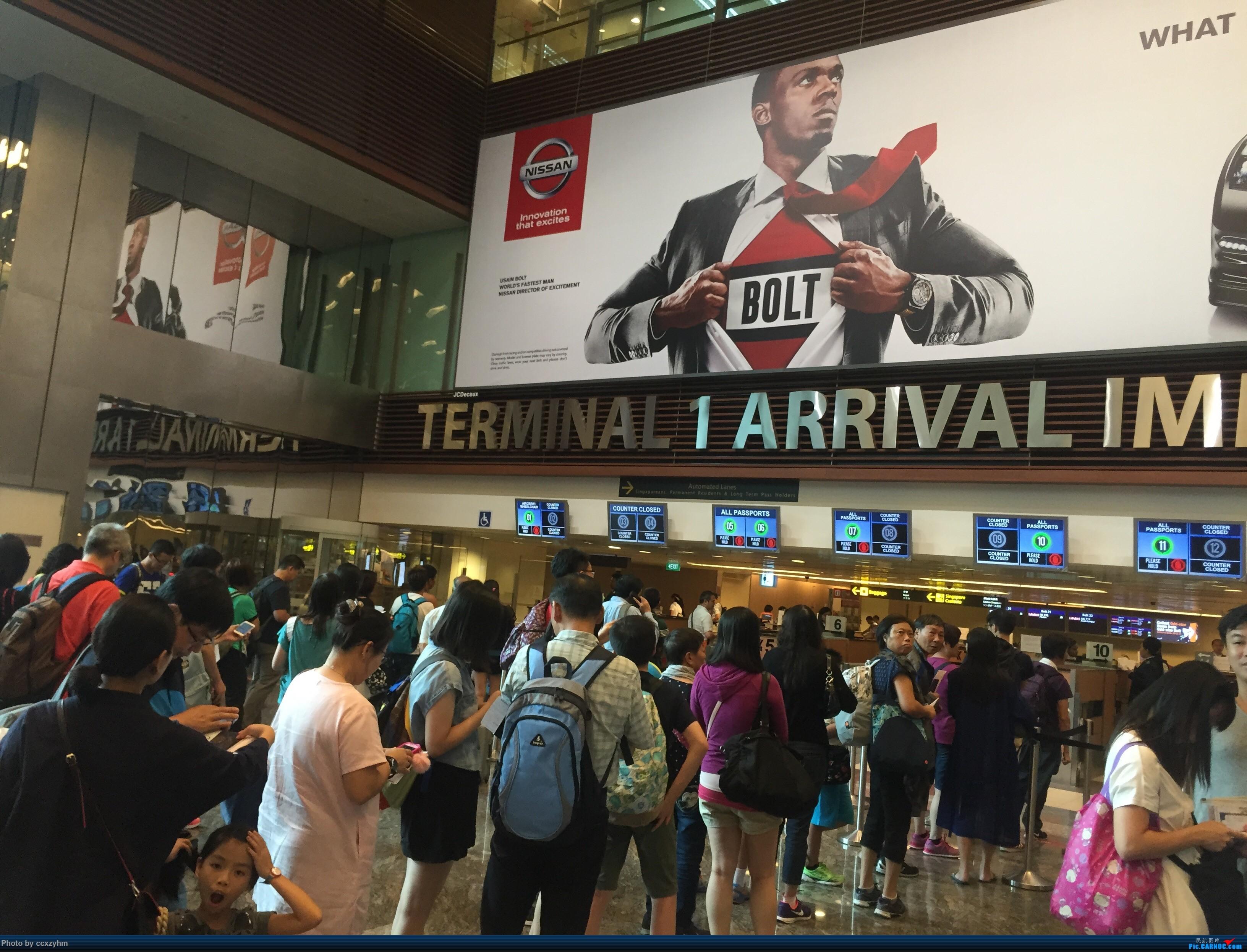 Re:[原创]PEK-HKG-SIN 港龙+国泰 KA+CX 暑假游坡县    新加坡樟宜机场