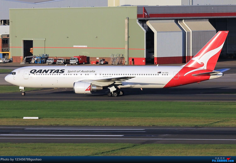 Re:[原创]SYD一组 BOEING 767-300ER VH-OGS 悉尼金斯福德·史密斯国际机场