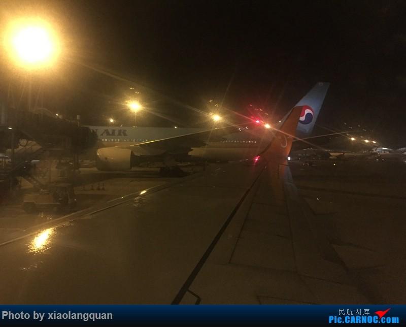 Re:7日韩国首尔短暂行,济州航空初体验,红眼航班好遭罪。。。 BOEING 737-800  中国香港赤鱲角国际机场