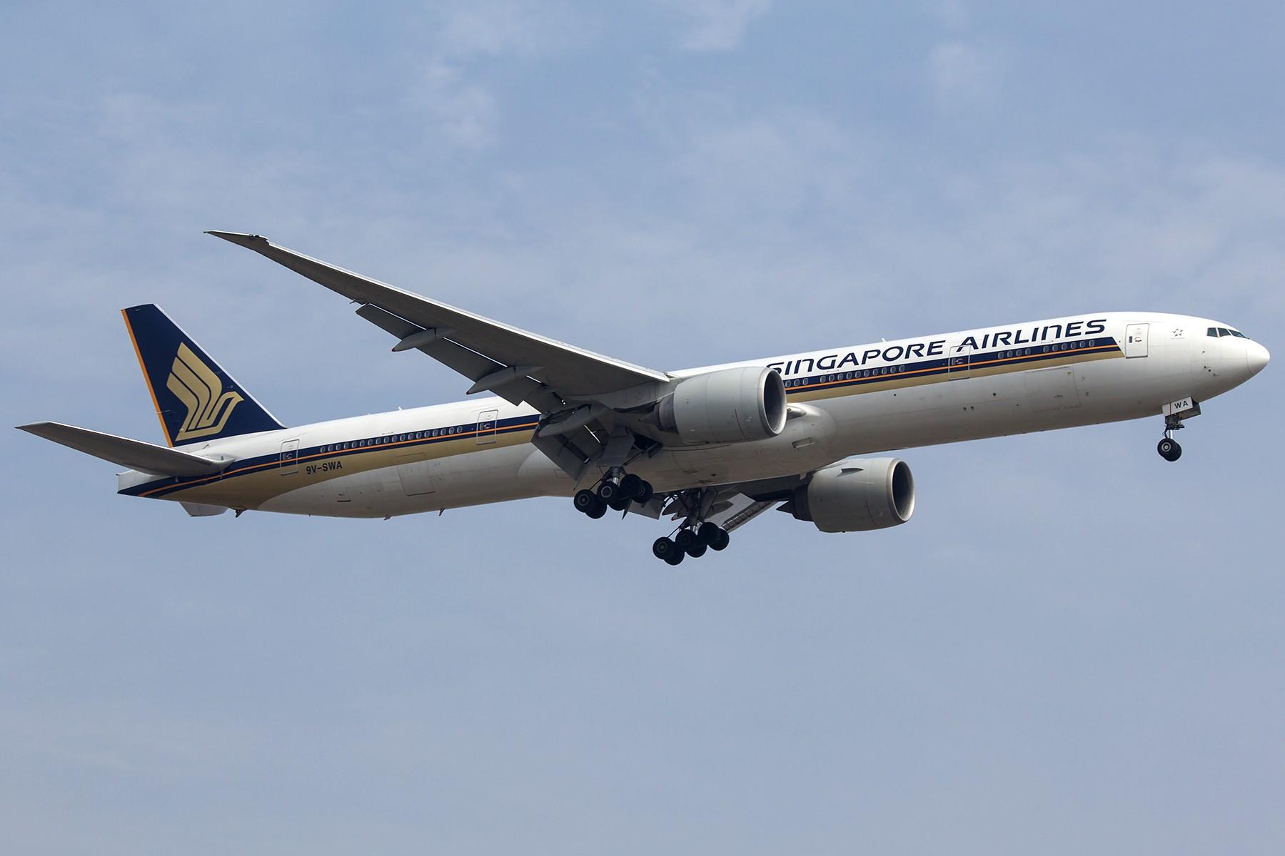 [原创]【1800*1200】浦 东 是 个 大 机 场 BOEING 777-300ER 9V-SWA 中国上海浦东国际机场