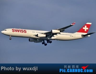 Re:[原创]上海浦东拍机 好货多多 AIRBUS A340-300 HB-JMB 中国上海浦东国际机场