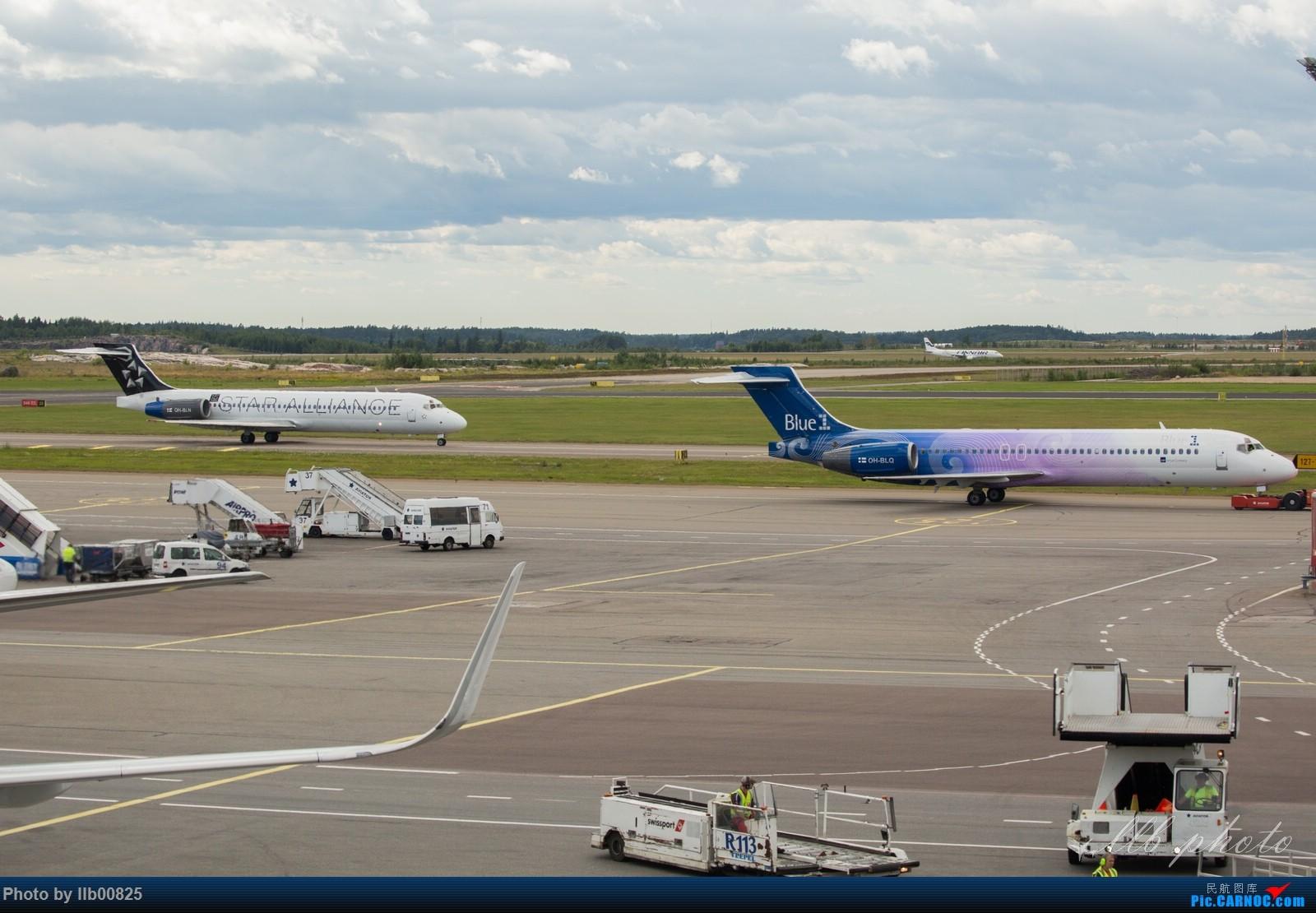 Re:[原创]赫尔辛基-布鲁塞尔一些杂图 BOEING 717 OH-BLQ 芬兰赫尔辛基机场