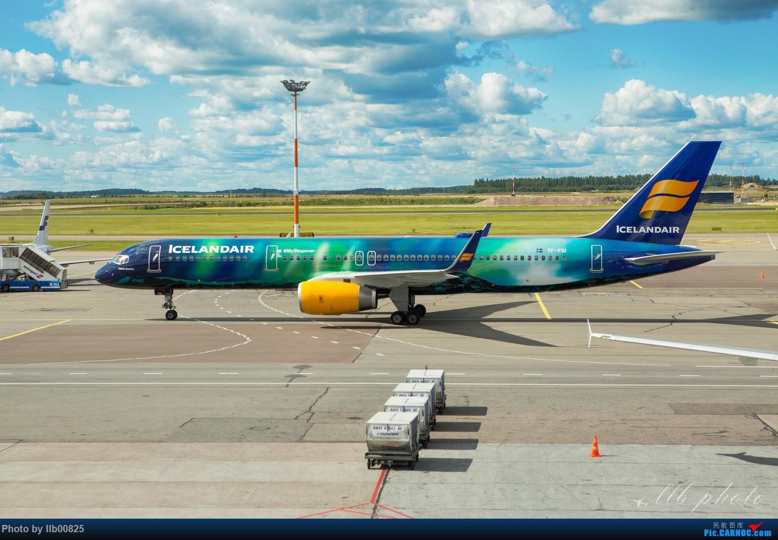 Re:[原创]赫尔辛基-布鲁塞尔一些杂图 BOEING 757-200 TF-FIU 芬兰赫尔辛基机场