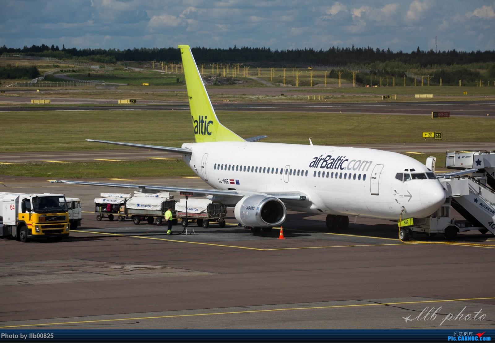 Re:[原创]赫尔辛基-布鲁塞尔一些杂图 BOEING 737-300 YL-BBR 芬兰赫尔辛基机场