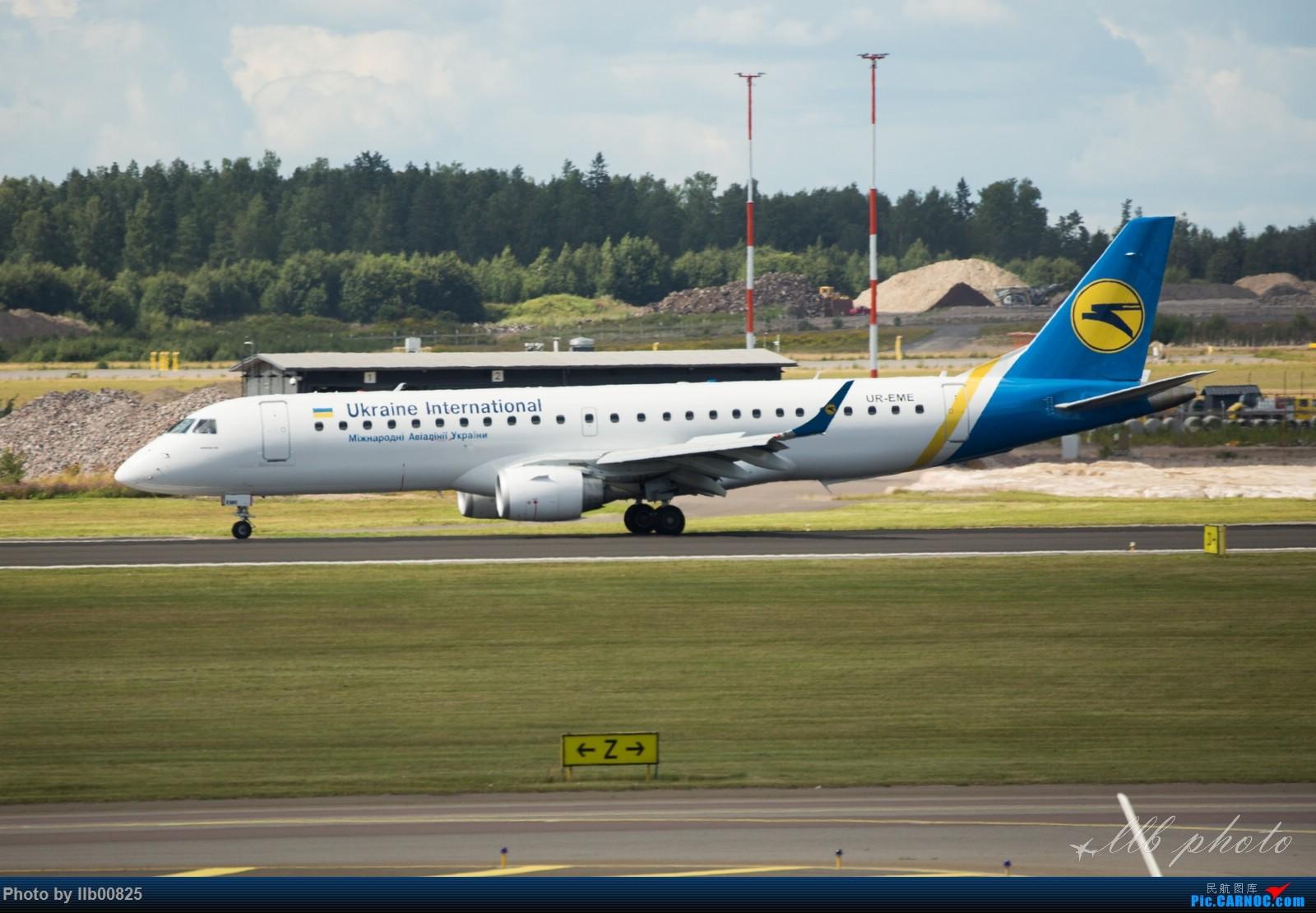 Re:[原创]赫尔辛基-布鲁塞尔一些杂图 EMBRAER E-190 UR-EME 芬兰赫尔辛基机场