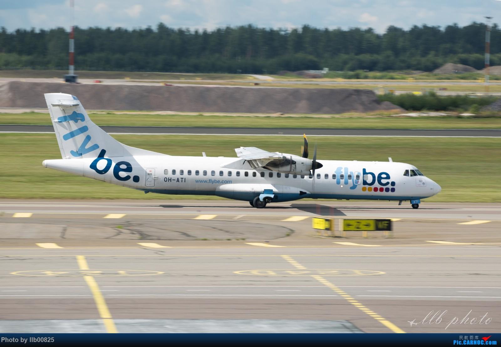 Re:[原创]赫尔辛基-布鲁塞尔一些杂图 ATR-72 OH-ATI 芬兰赫尔辛基机场