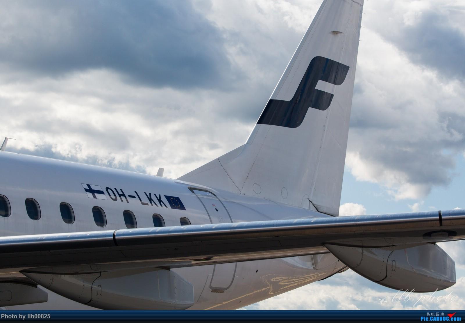 Re:[原创]赫尔辛基-布鲁塞尔一些杂图 EMBRAER E-190 OH-LKK 芬兰赫尔辛基机场