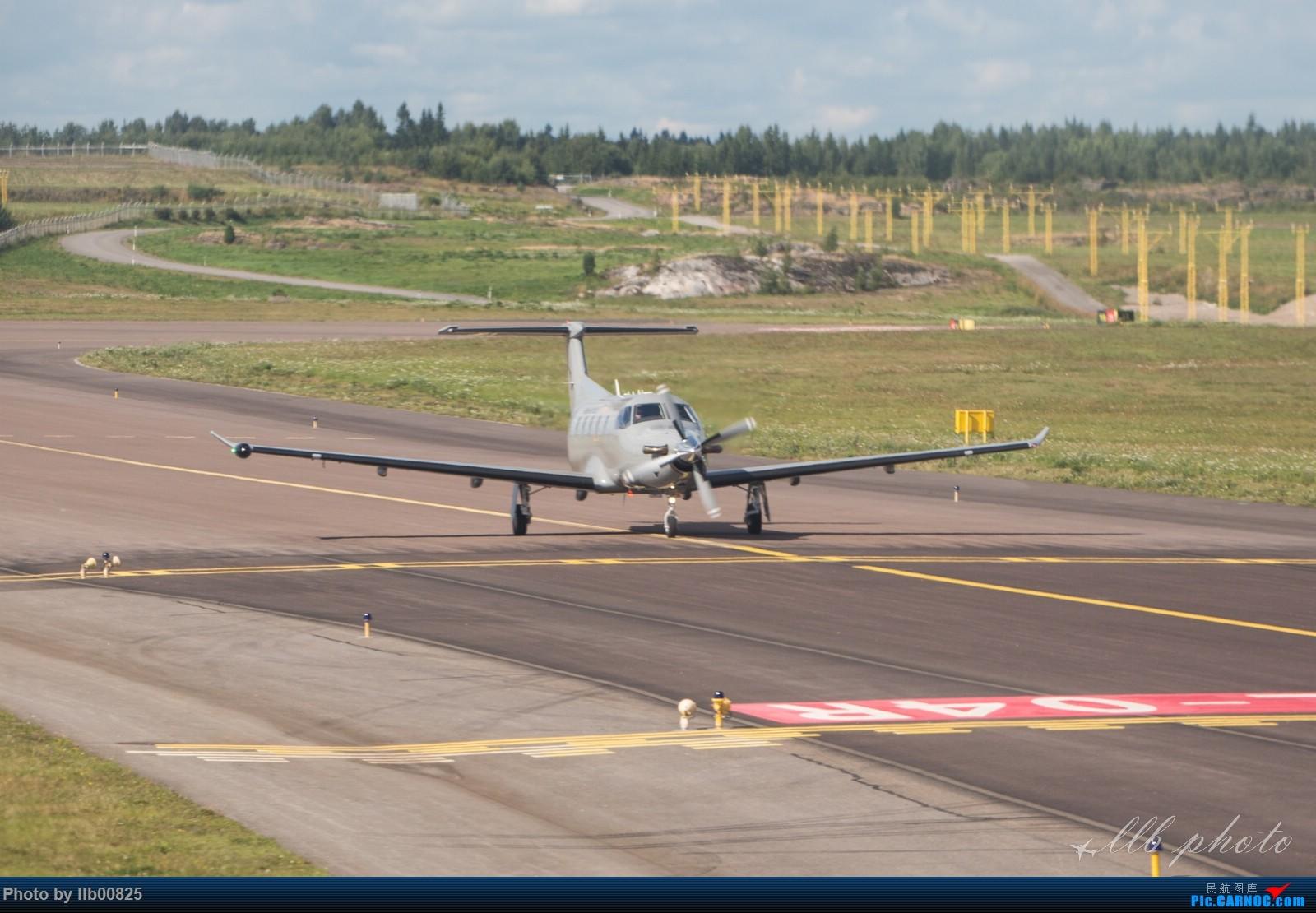 Re:[原创]赫尔辛基-布鲁塞尔一些杂图 PILATUS  PC-12  芬兰赫尔辛基机场