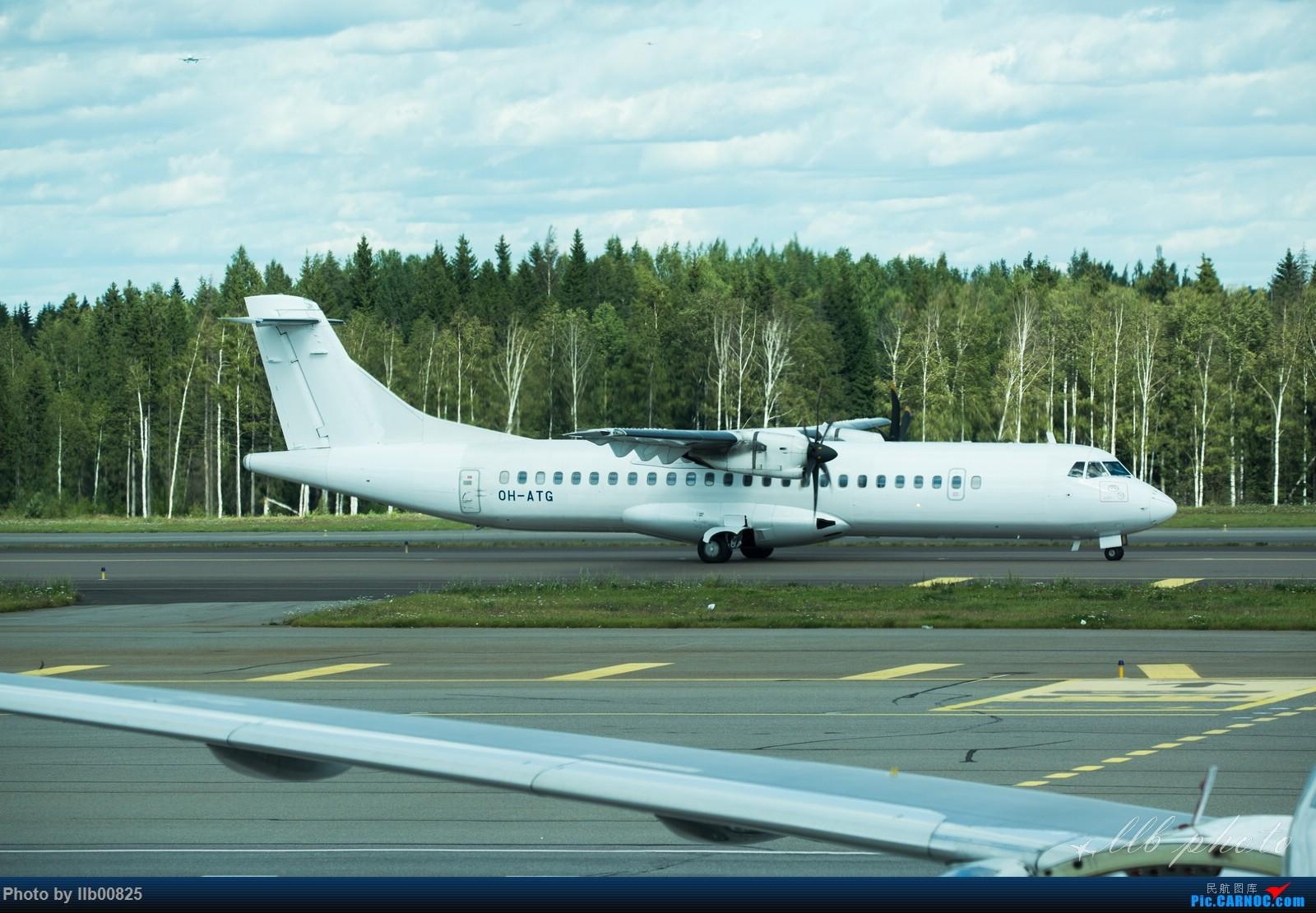 Re:[原创]赫尔辛基-布鲁塞尔一些杂图 ATR-72 OH-ATG 芬兰赫尔辛基机场