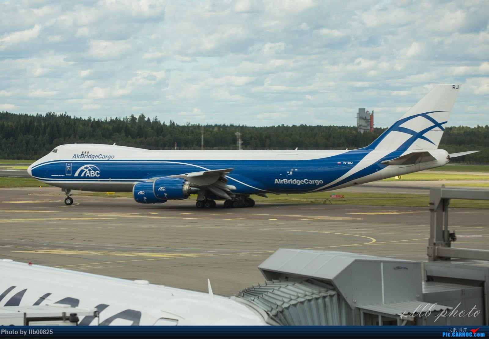 Re:[原创]赫尔辛基-布鲁塞尔一些杂图 BOEING 747-8I VQ-BRJ 芬兰赫尔辛基机场