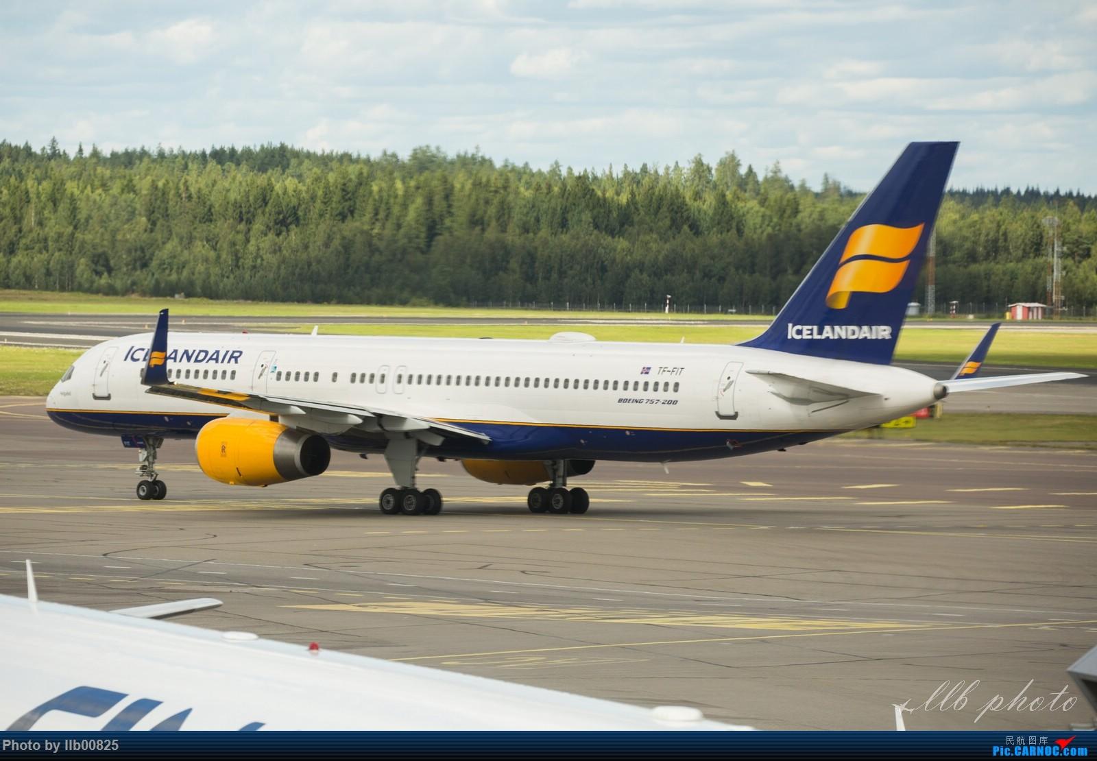 Re:[原创]赫尔辛基-布鲁塞尔一些杂图 BOEING 757-200 TF-FIT 芬兰赫尔辛基机场