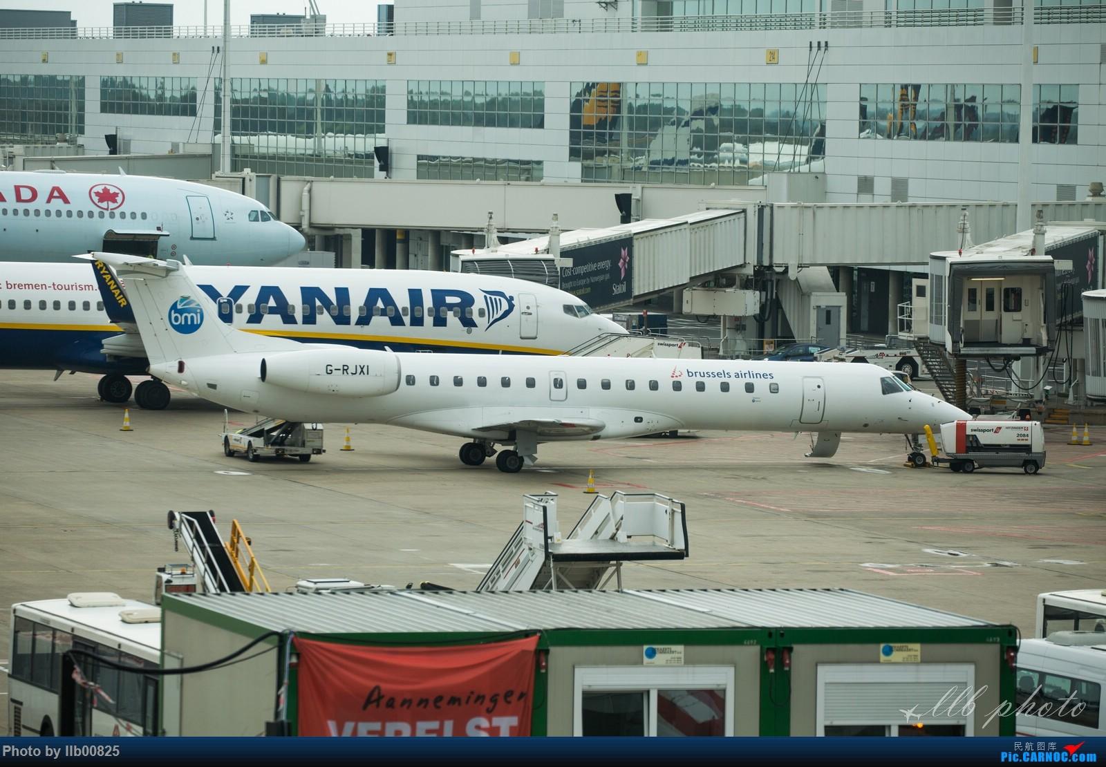 Re:[原创]赫尔辛基-布鲁塞尔一些杂图 EMBRAER E-145 G-RJXI 比利时布鲁塞尔机场