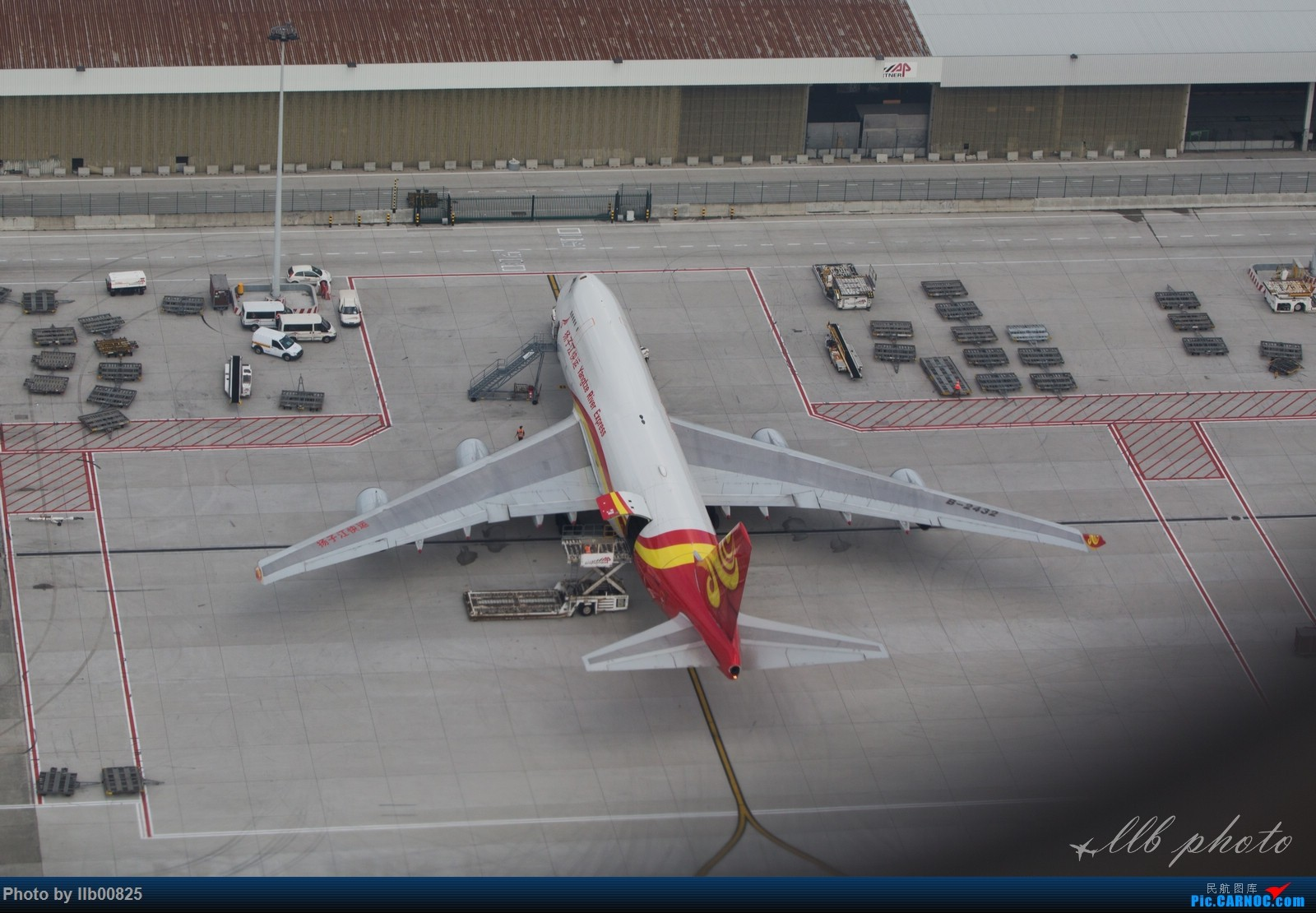 Re:[原创]赫尔辛基-布鲁塞尔一些杂图 BOEING 747-400 B-2432 比利时布鲁塞尔机场
